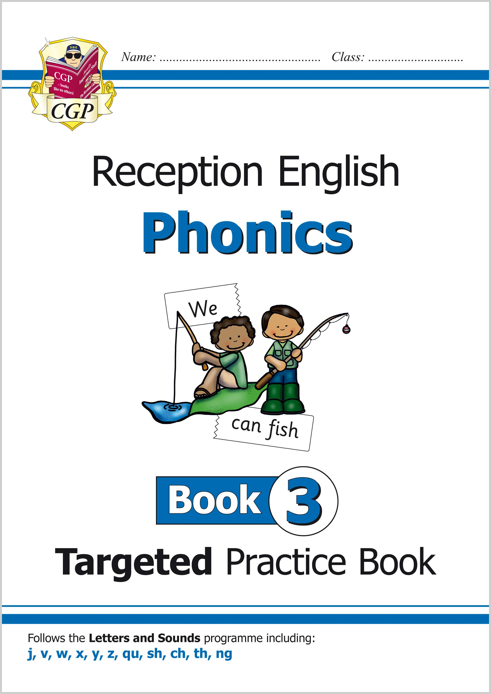 EROW311 - New English Targeted Practice Book: Phonics - Reception Book 3