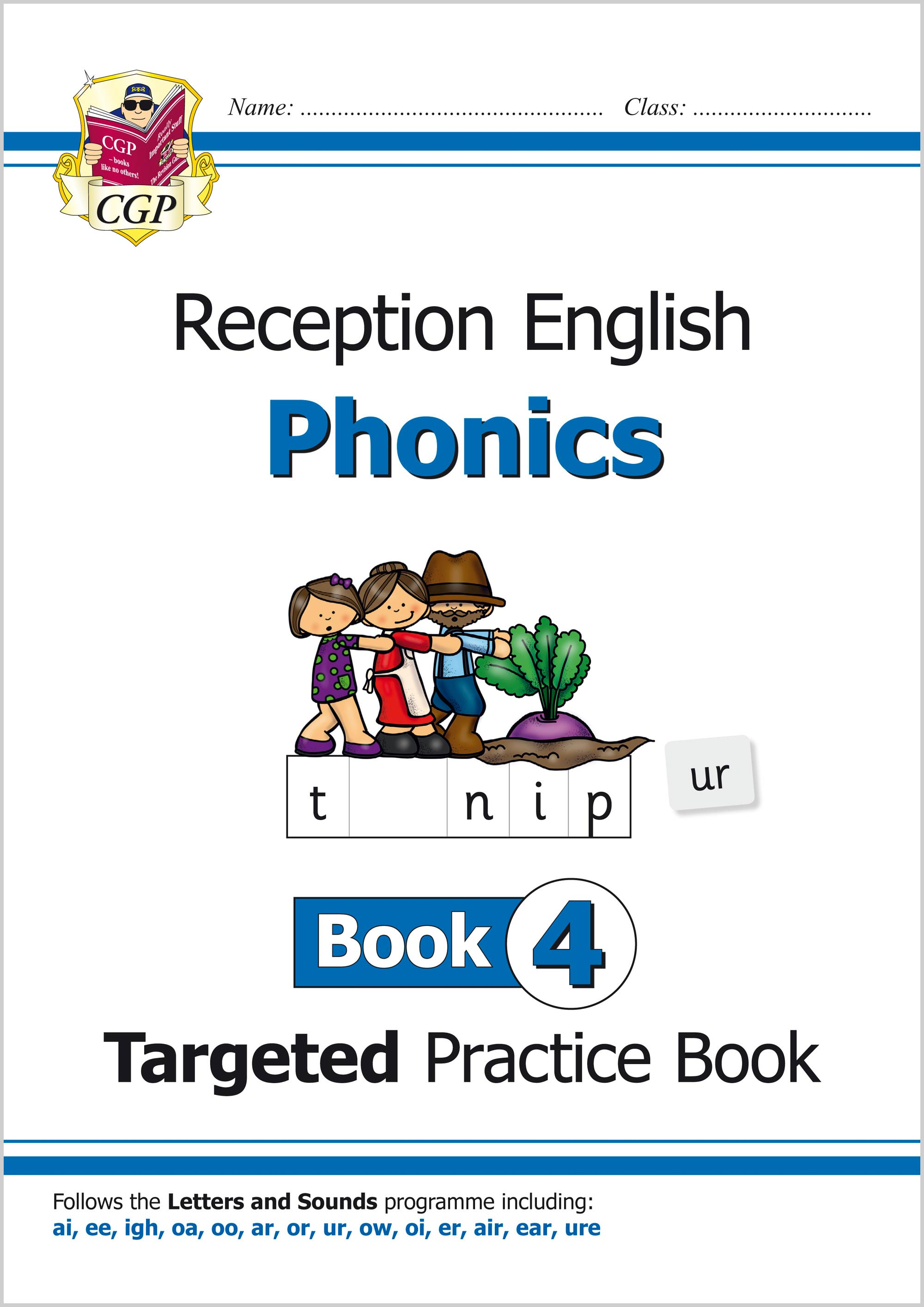 EROW411 - English Targeted Practice Book: Phonics - Reception Book 4