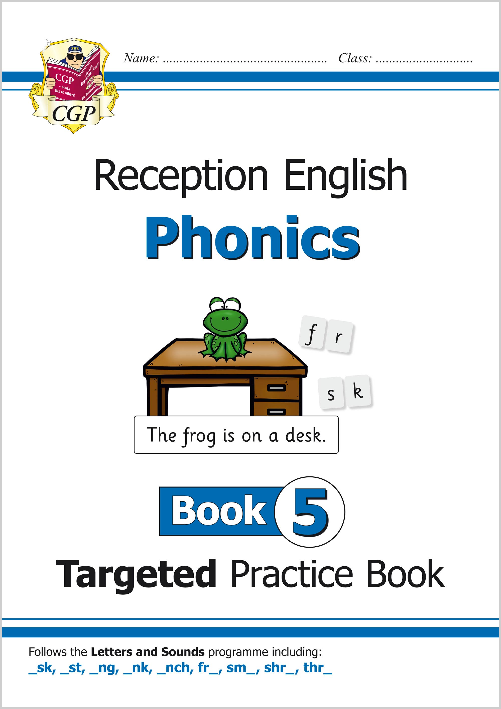 EROW511 - English Targeted Practice Book: Phonics - Reception Book 5