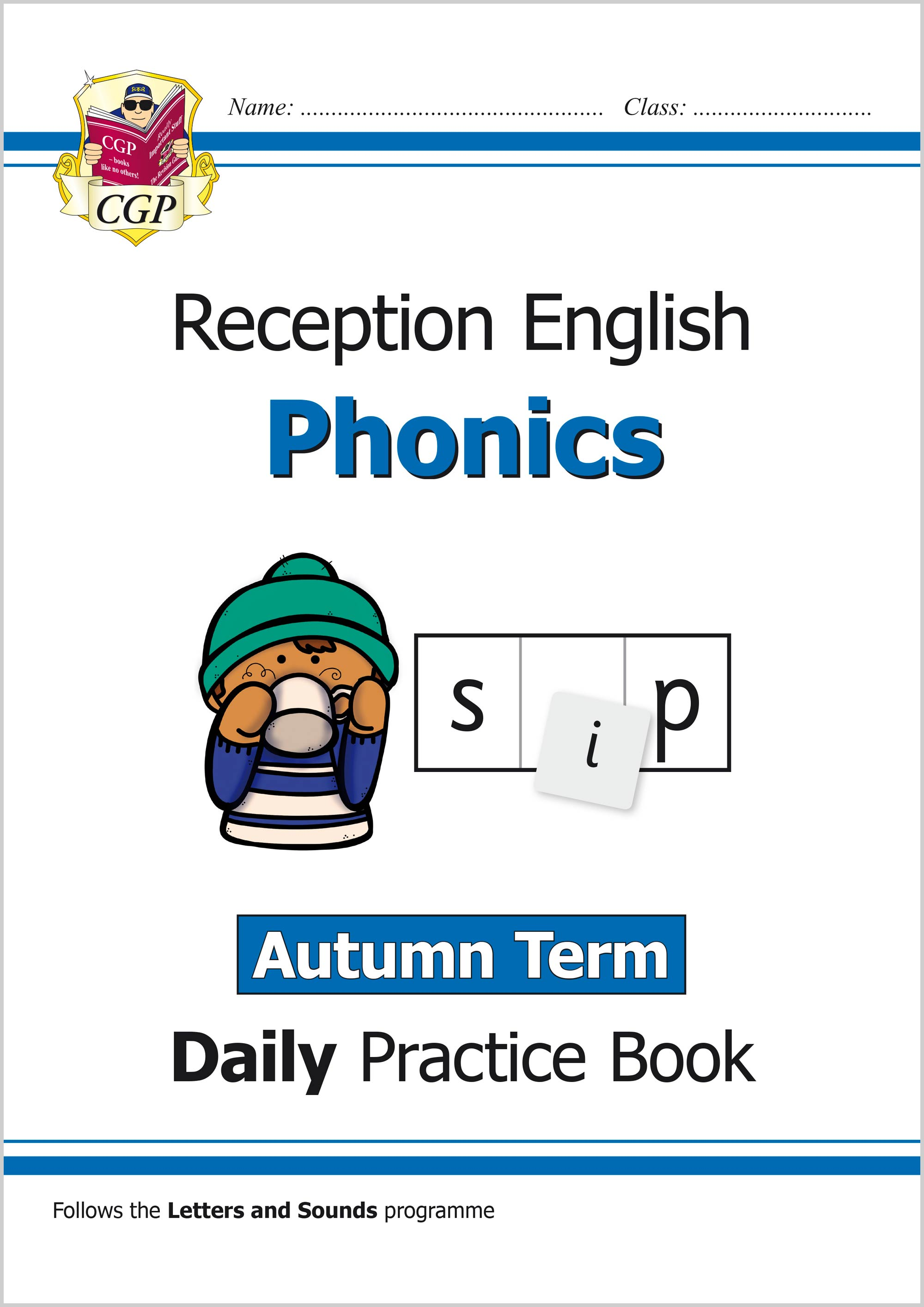 EROWAU11 - New Phonics Daily Practice Book: Reception - Autumn Term