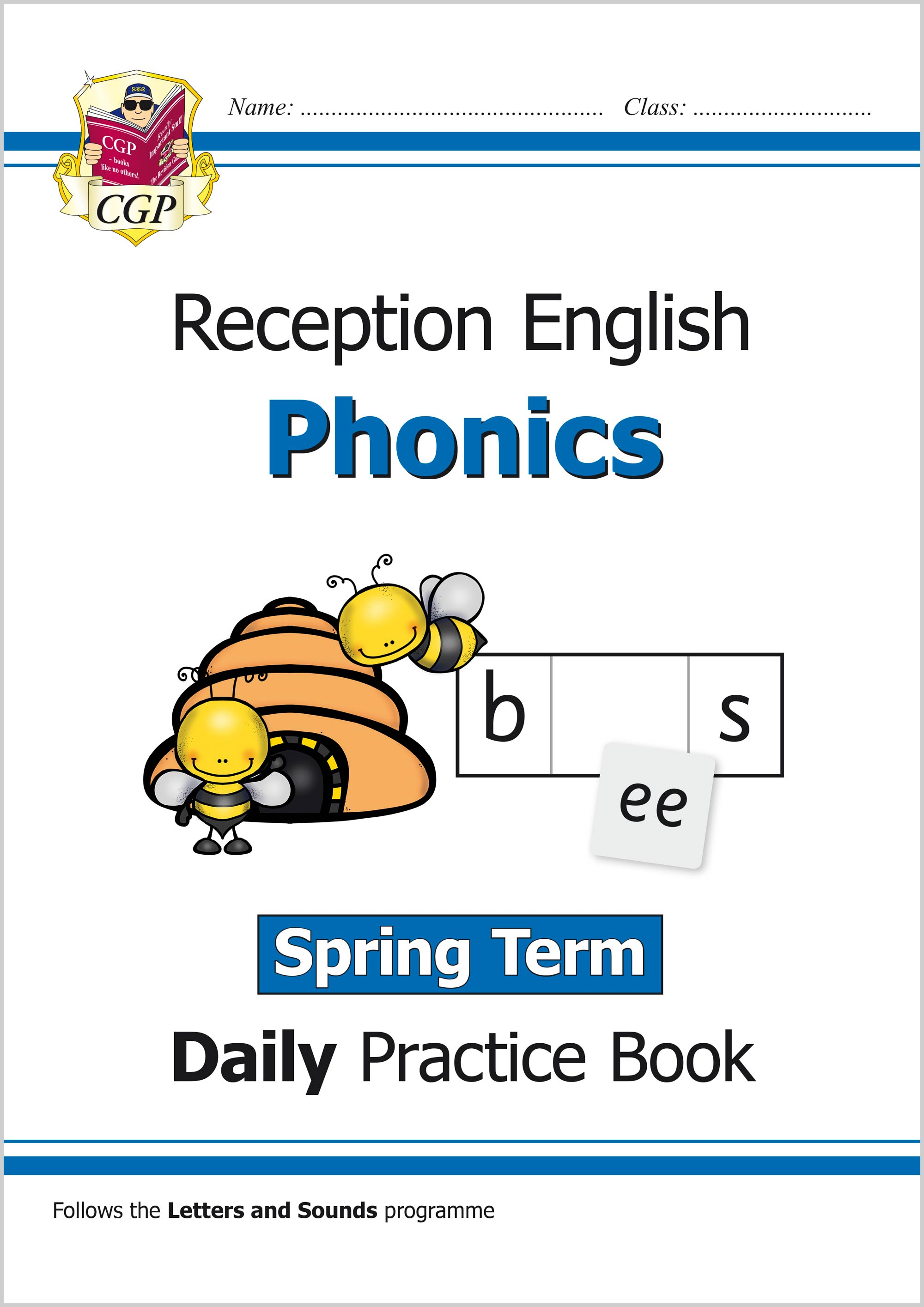 EROWSP11 - New Phonics Daily Practice Book: Reception - Spring Term