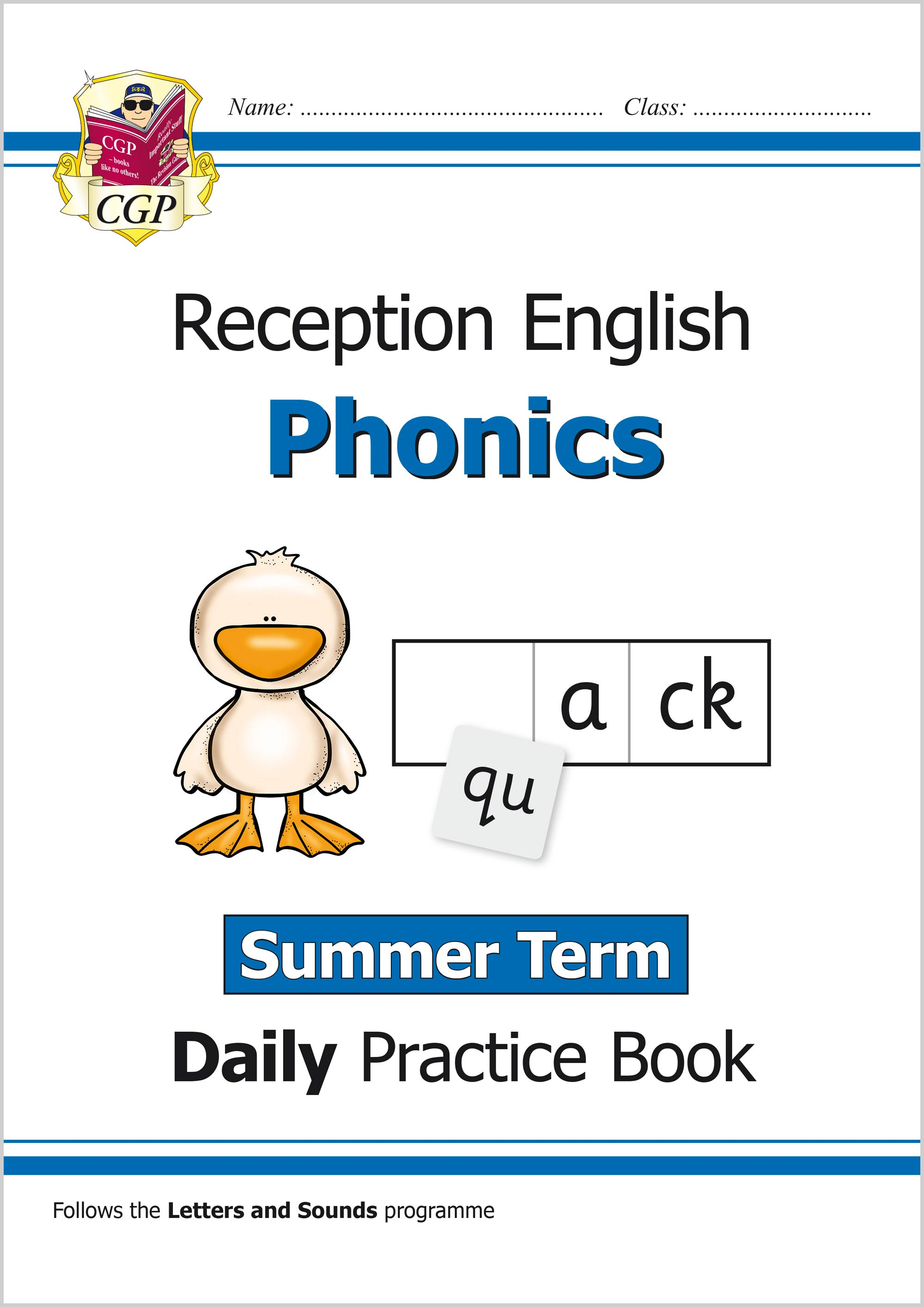 EROWSU11 - New Phonics Daily Practice Book: Reception - Summer Term