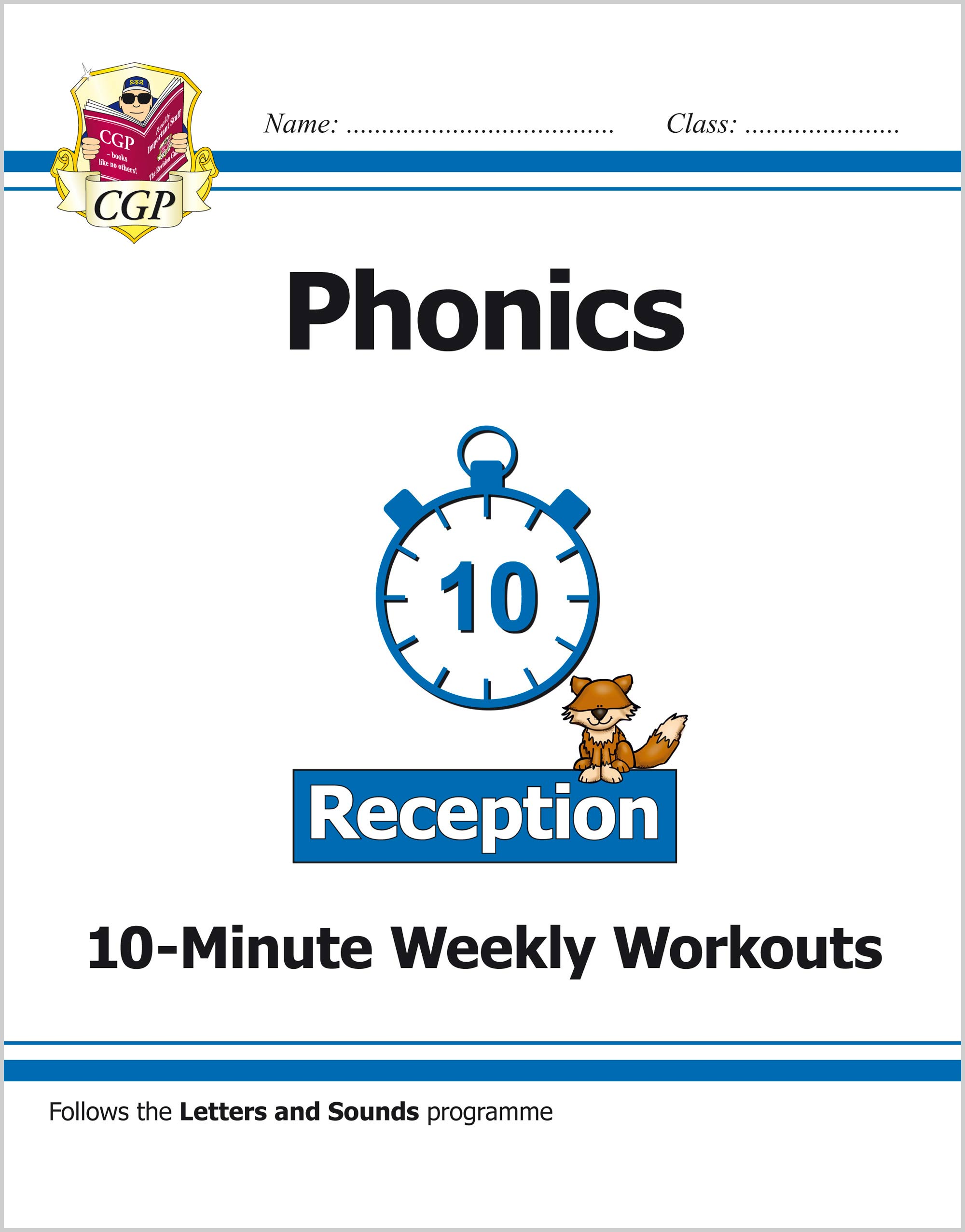 EROXW11 - New English 10-Minute Weekly Workouts: Phonics - Reception