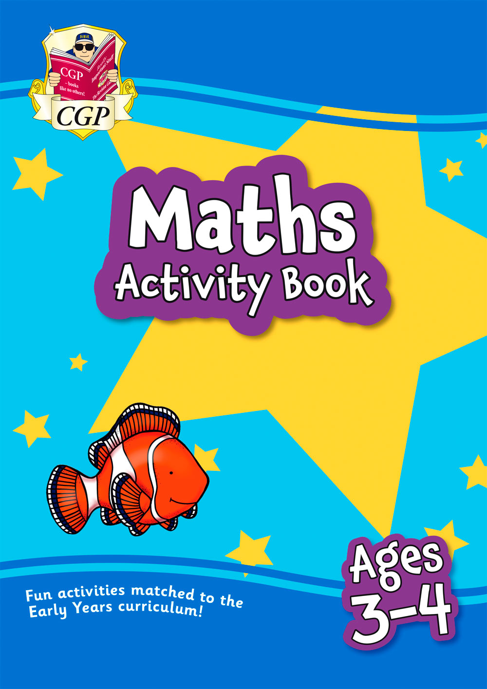 MPFEQ01 - New Maths Home Learning Activity Book for Ages 3-4