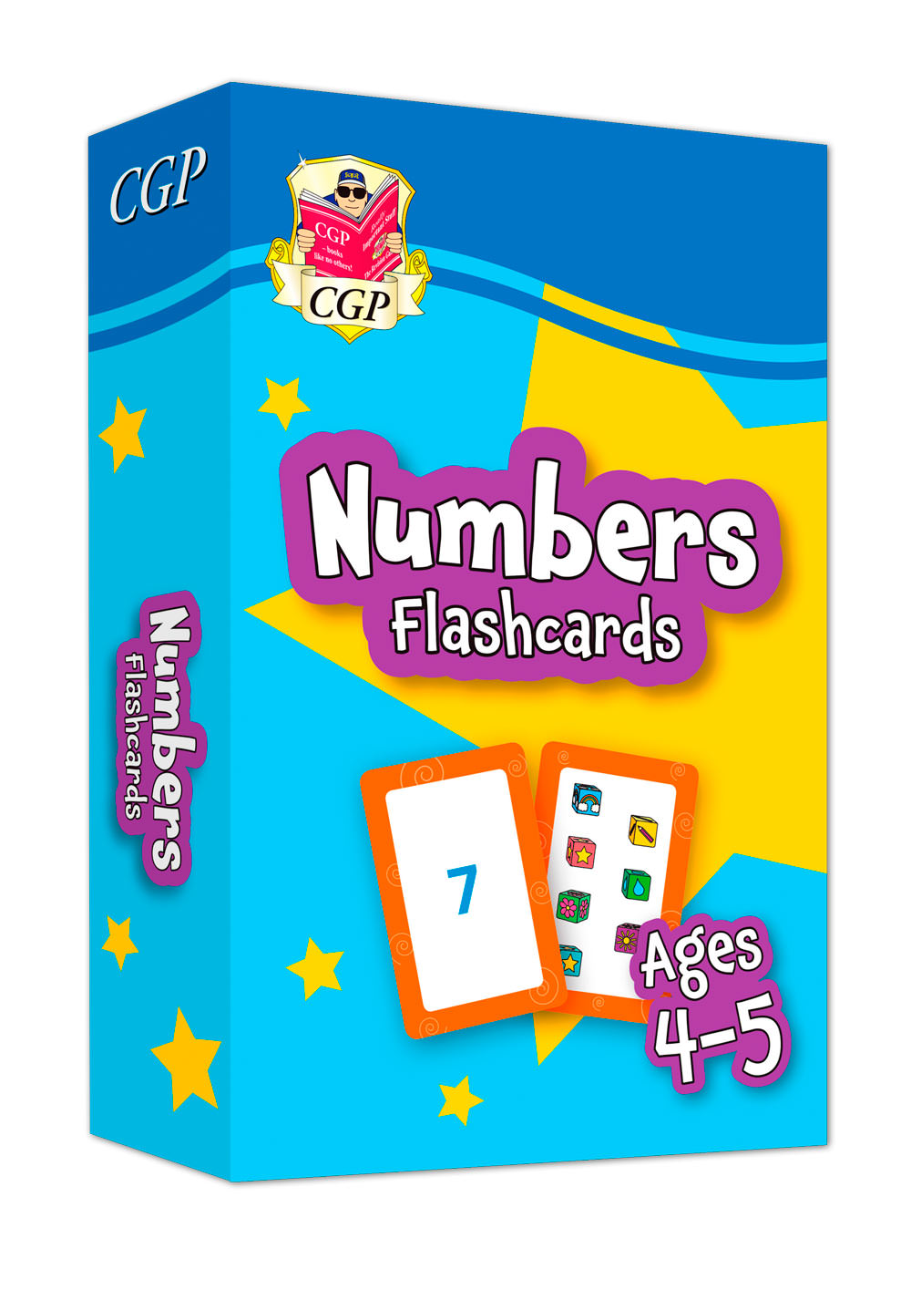 MPFNRF01 - New Numbers Flashcards for Ages 4-5: perfect for back-to-school practice