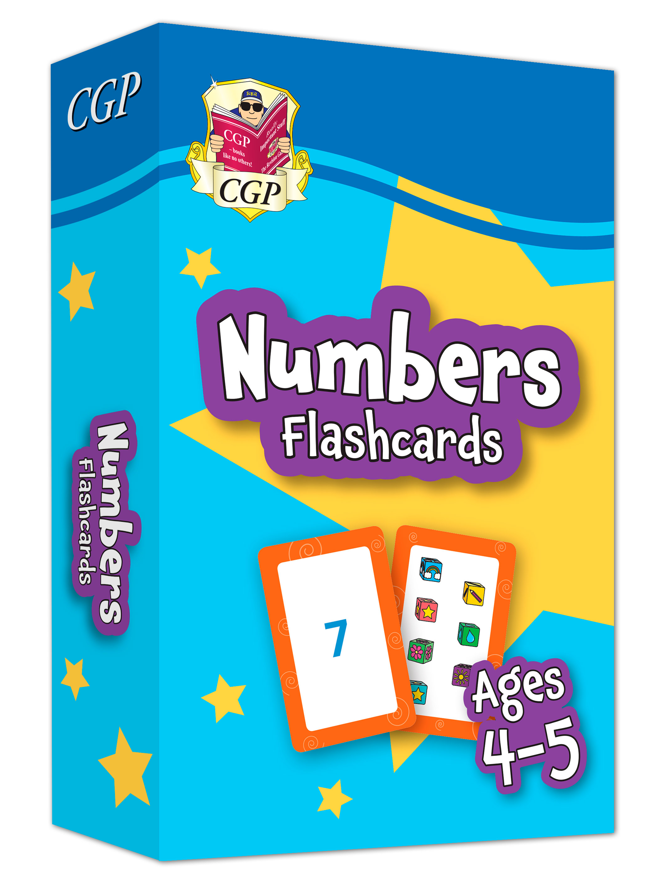 MPFNRF01DK - New Numbers Home Learning Flashcards for Ages 4-5