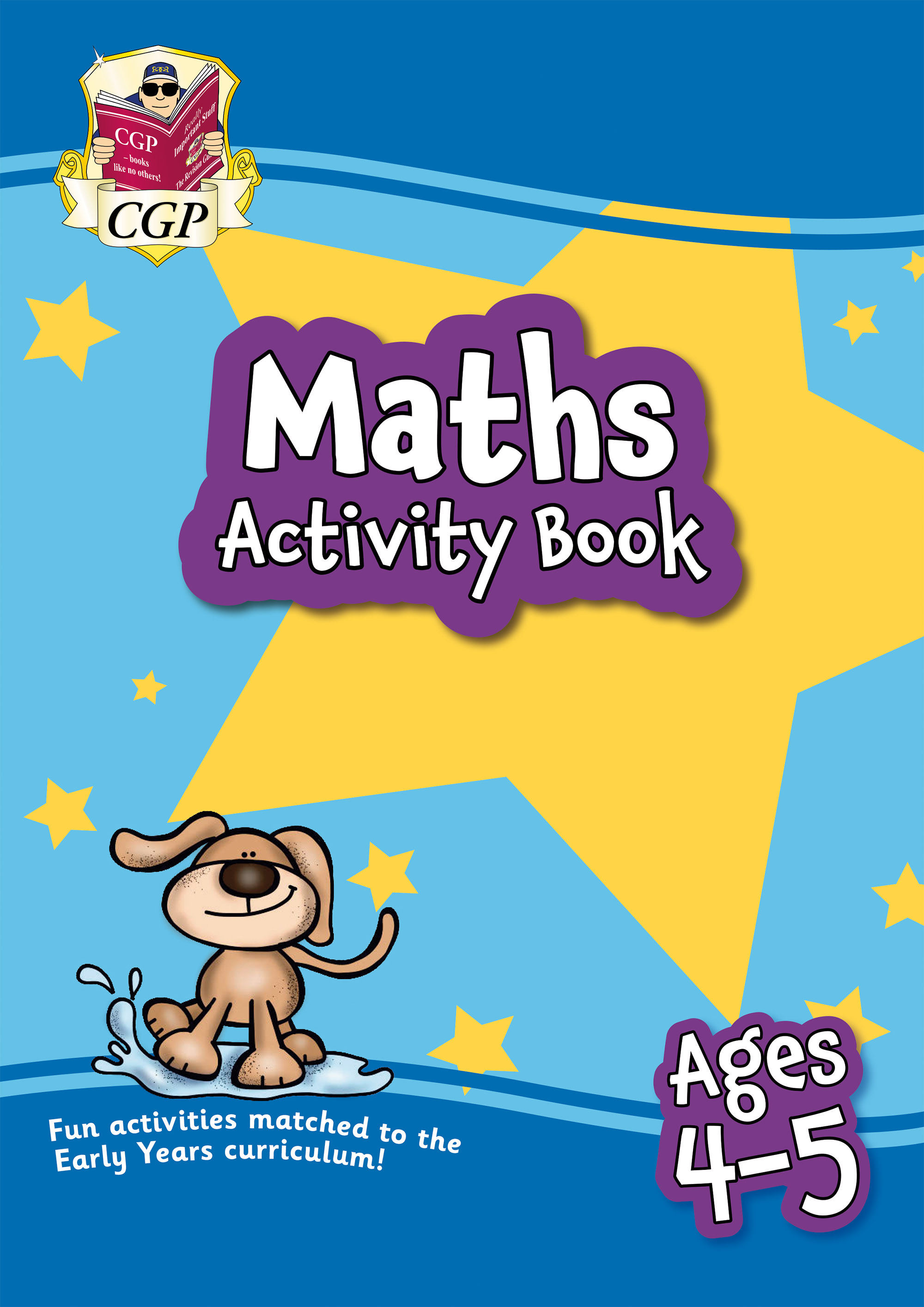 MPFRQ01D - New Maths Activity Book for Ages 4-5: Perfect for Catch-Up and Home Learning