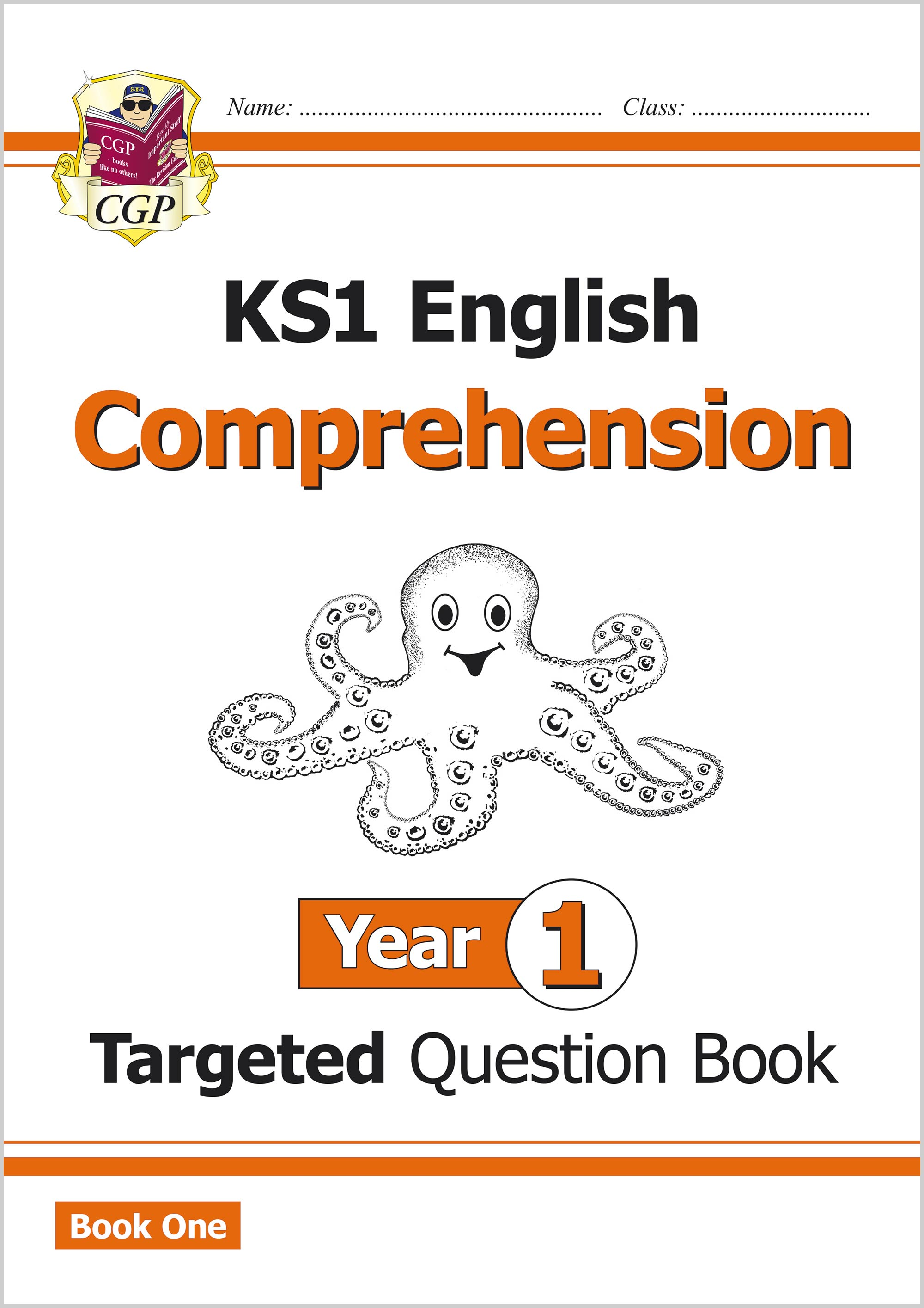 E1CW11 - New KS1 English Targeted Question Book: Comprehension - Year 1