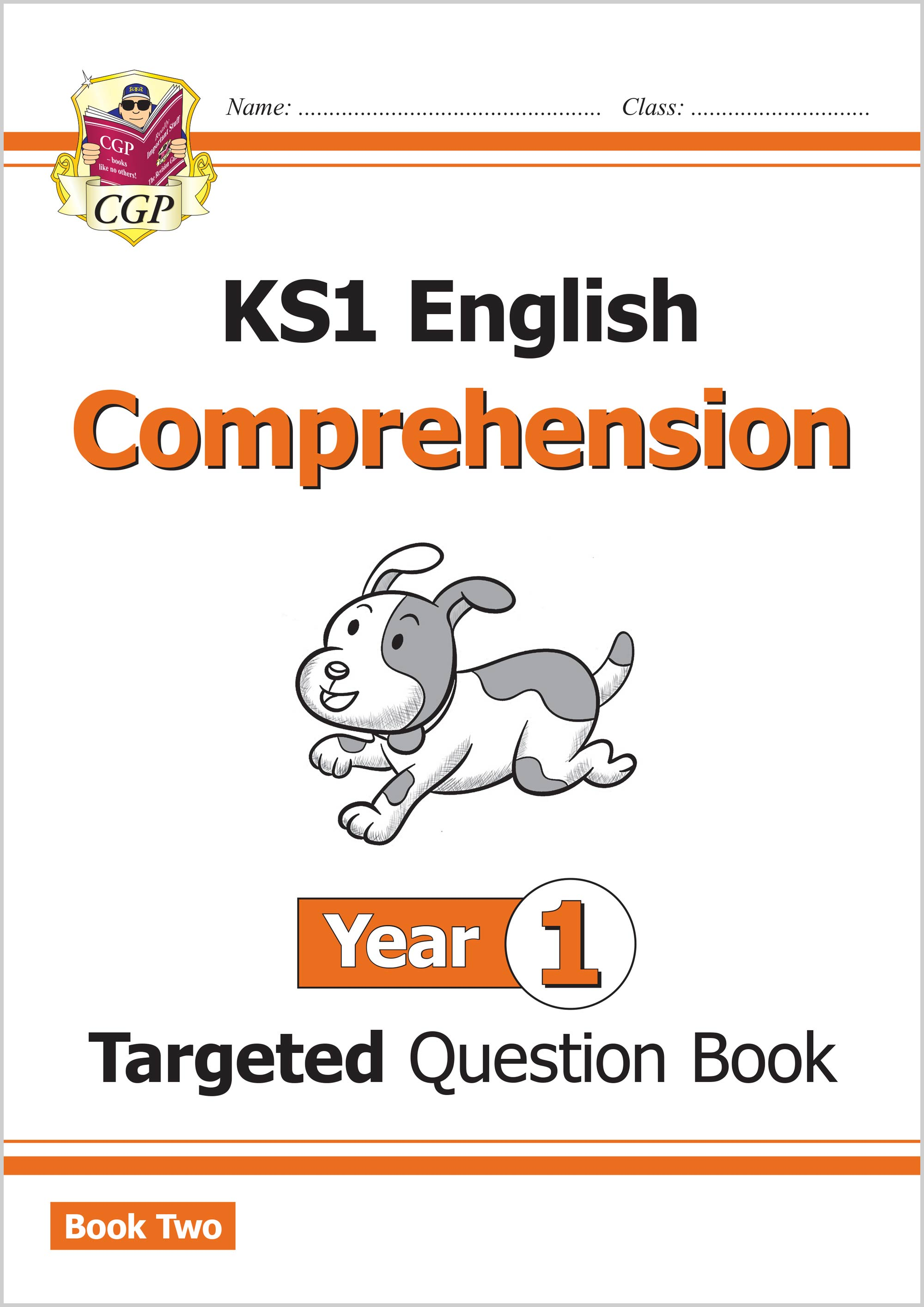 E1CW211 - KS1 English Targeted Question Book: Year 1 Comprehension - Book 2
