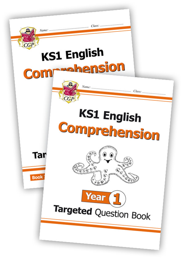 E1CWB11 - KS1 English Targeted Question Book: Year 1 Comprehension - Book 1 & 2 Bundle