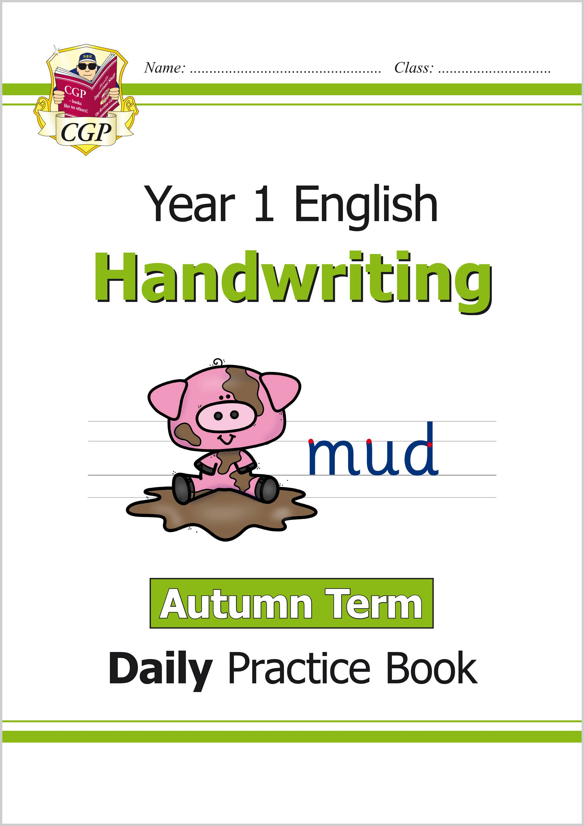 E1HWAU11 - New KS1 Handwriting Daily Practice Book: Year 1 - Autumn Term