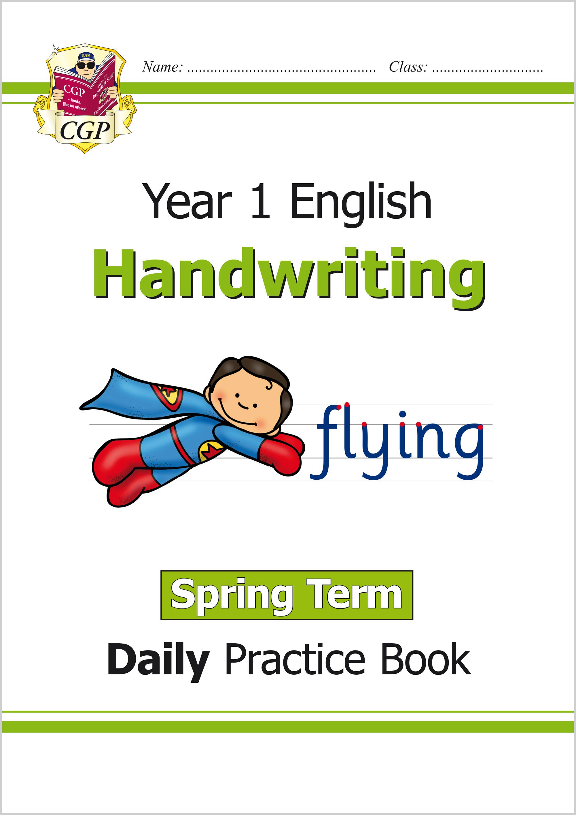 E1HWSP11 - New KS1 Handwriting Daily Practice Book: Year 1 - Spring Term