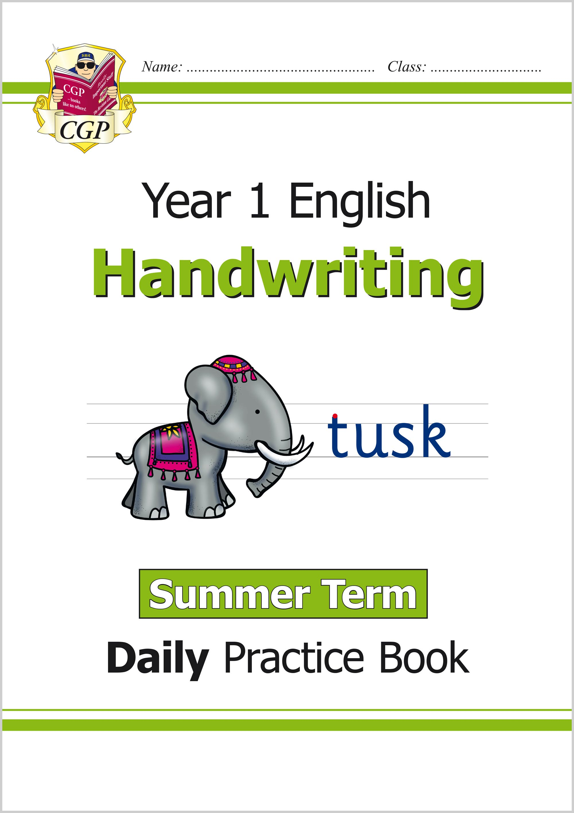 E1HWSU11 - New KS1 Handwriting Daily Practice Book: Year 1 - Summer Term