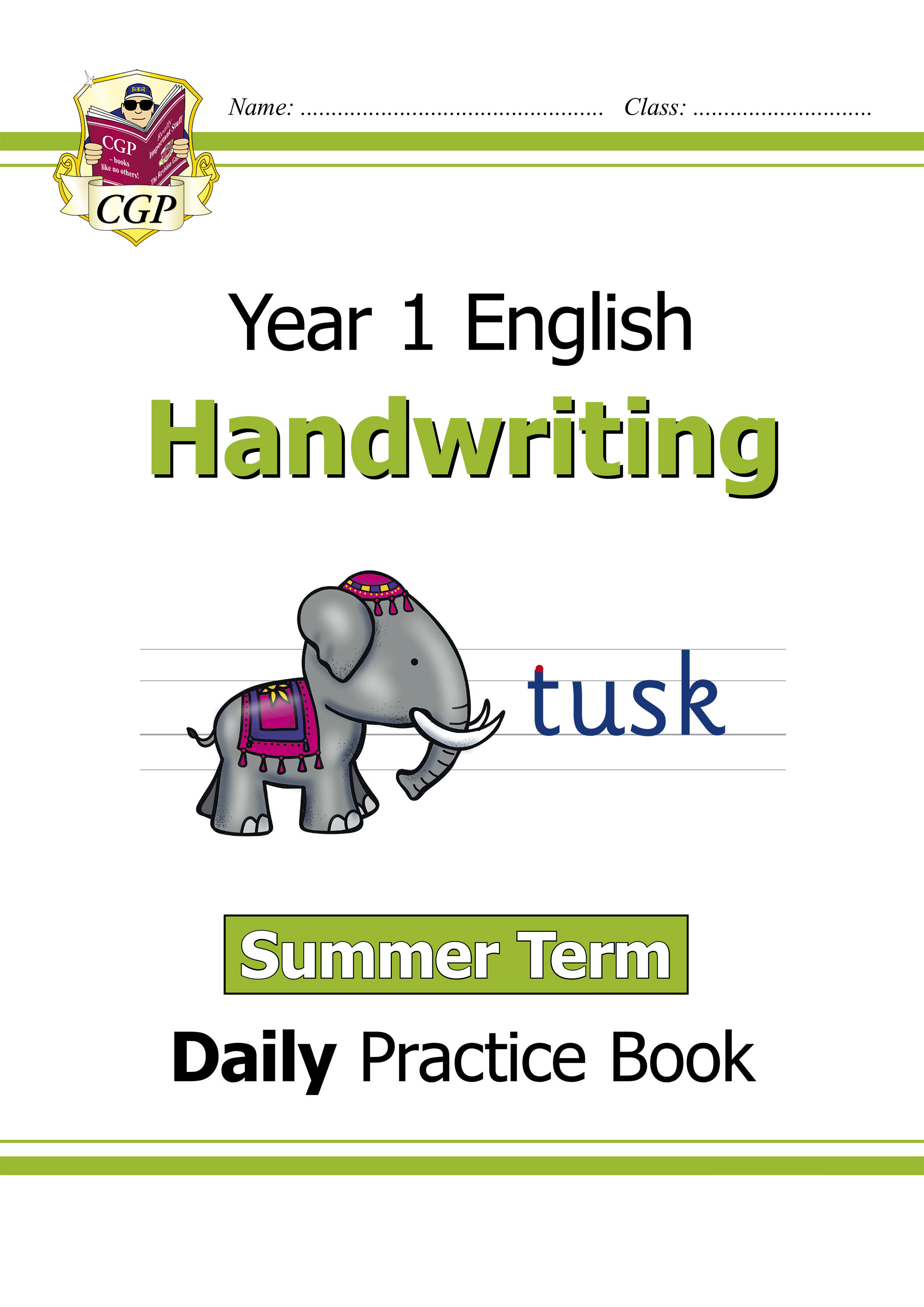 E1HWSU11D - New KS1 Handwriting Daily Practice Book: Year 1 - Summer Term Online Edition