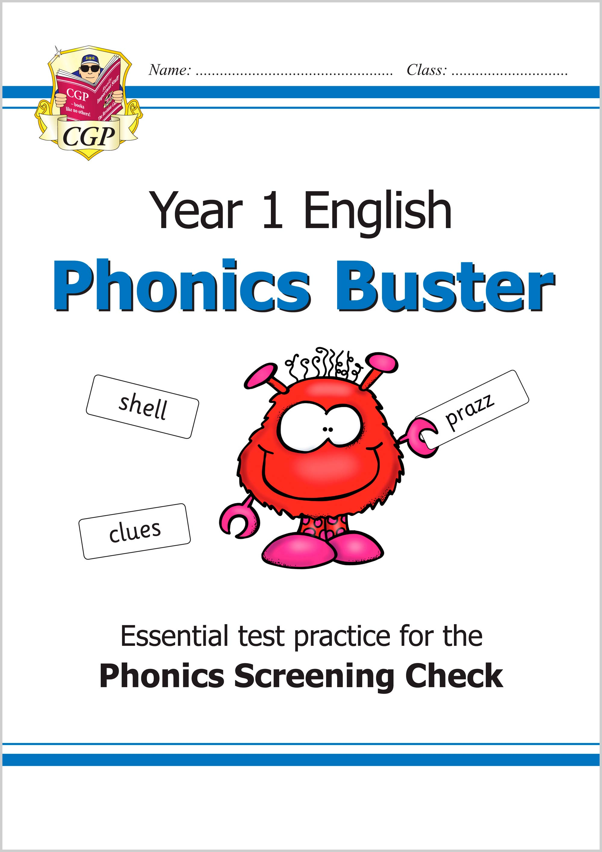 E1O11 - New KS1 English Phonics Buster - for the Phonics Screening Check in Year 1