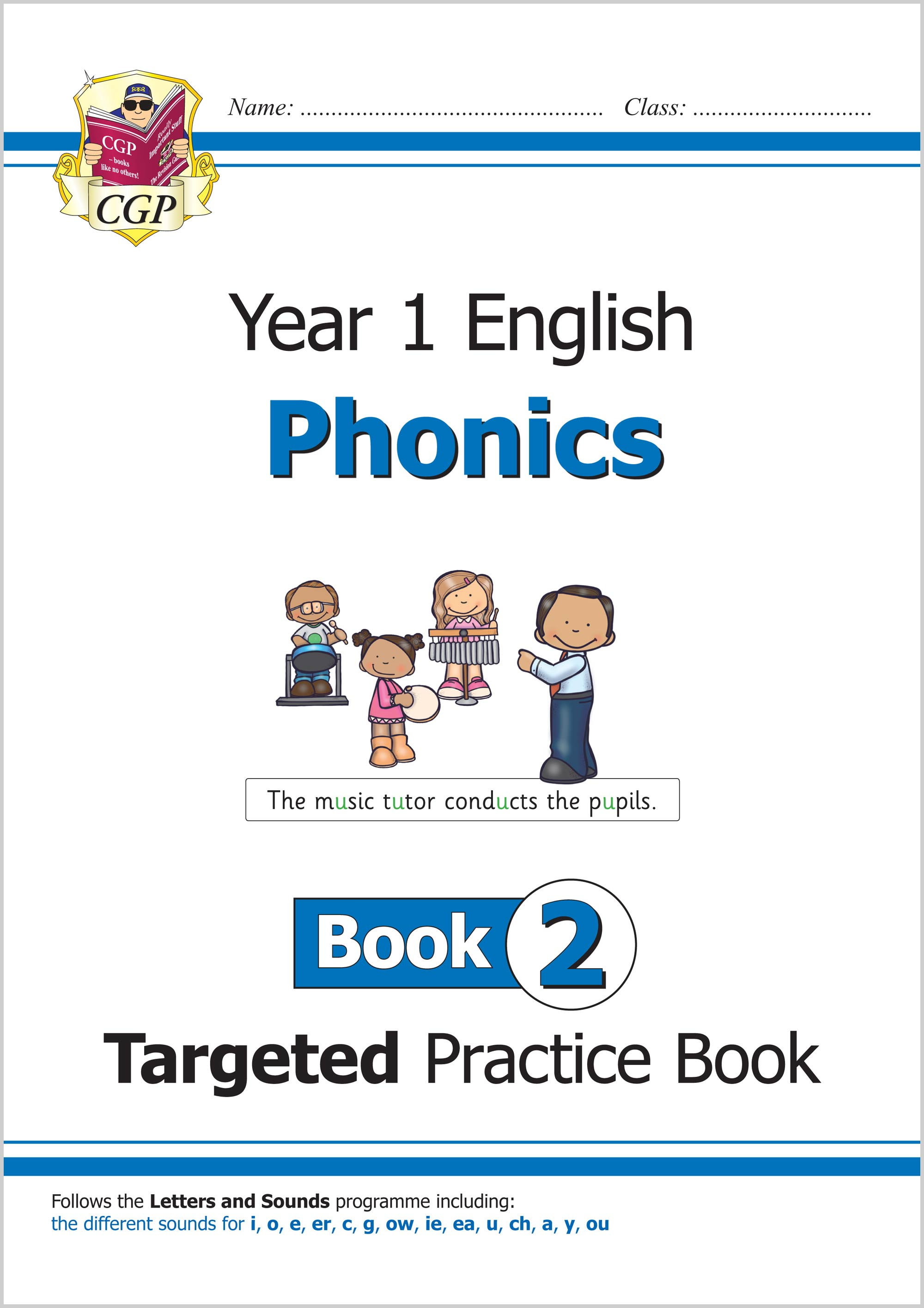 E1OW211 - KS1 English Targeted Practice Book: Phonics - Year 1 Book 2