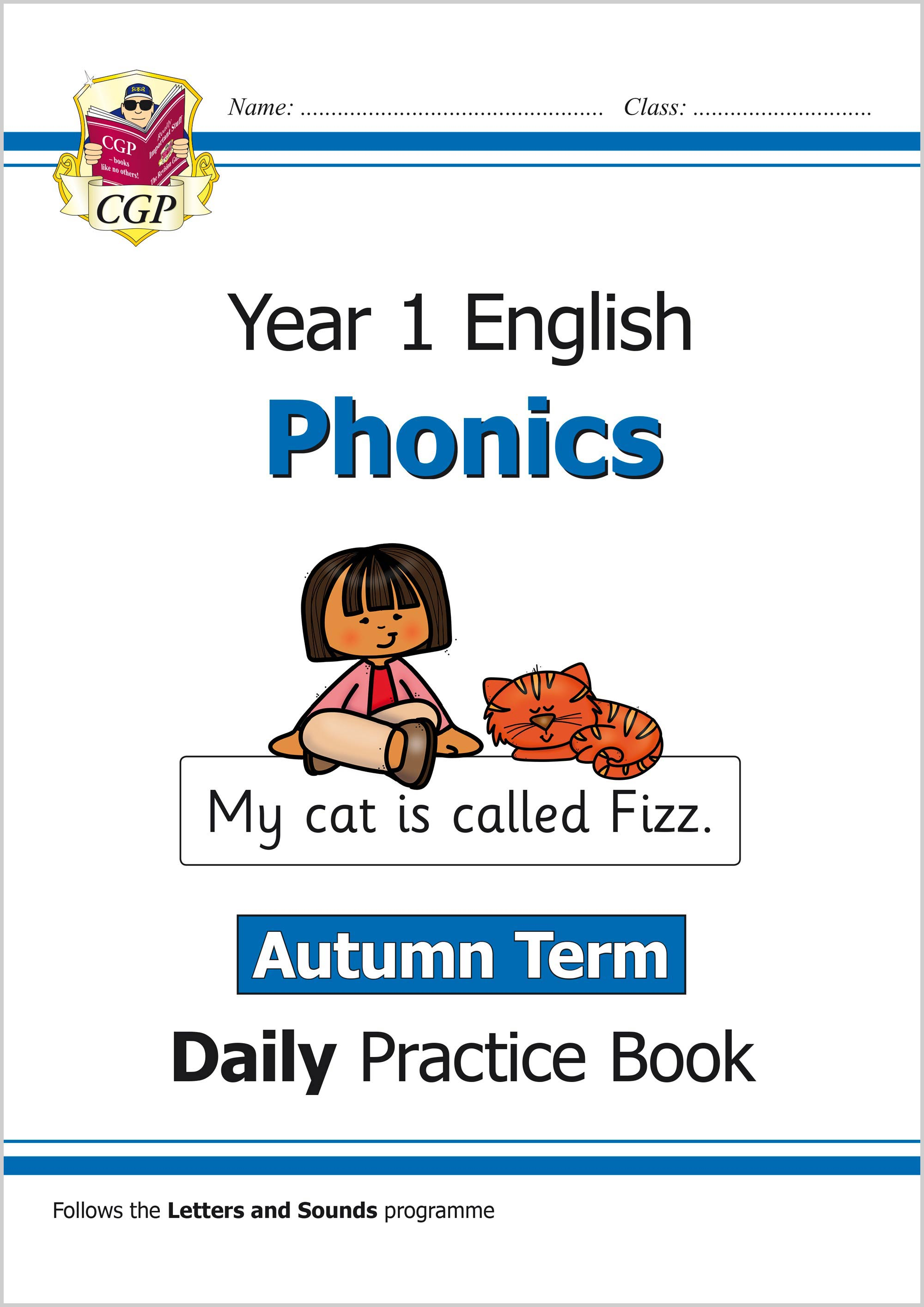 E1OWAU11 - New KS1 Phonics Daily Practice Book: Year 1 - Autumn Term
