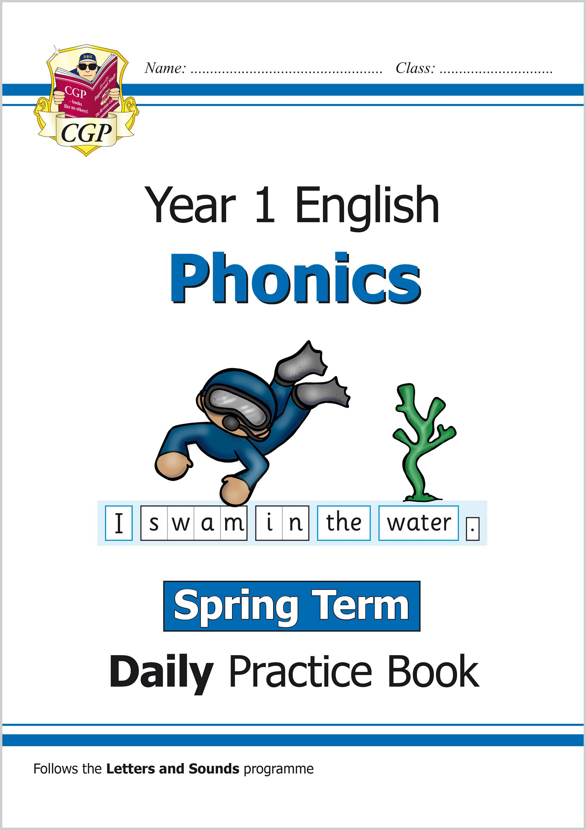 E1OWSP11 - New KS1 Phonics Daily Practice Book: Year 1 - Spring Term