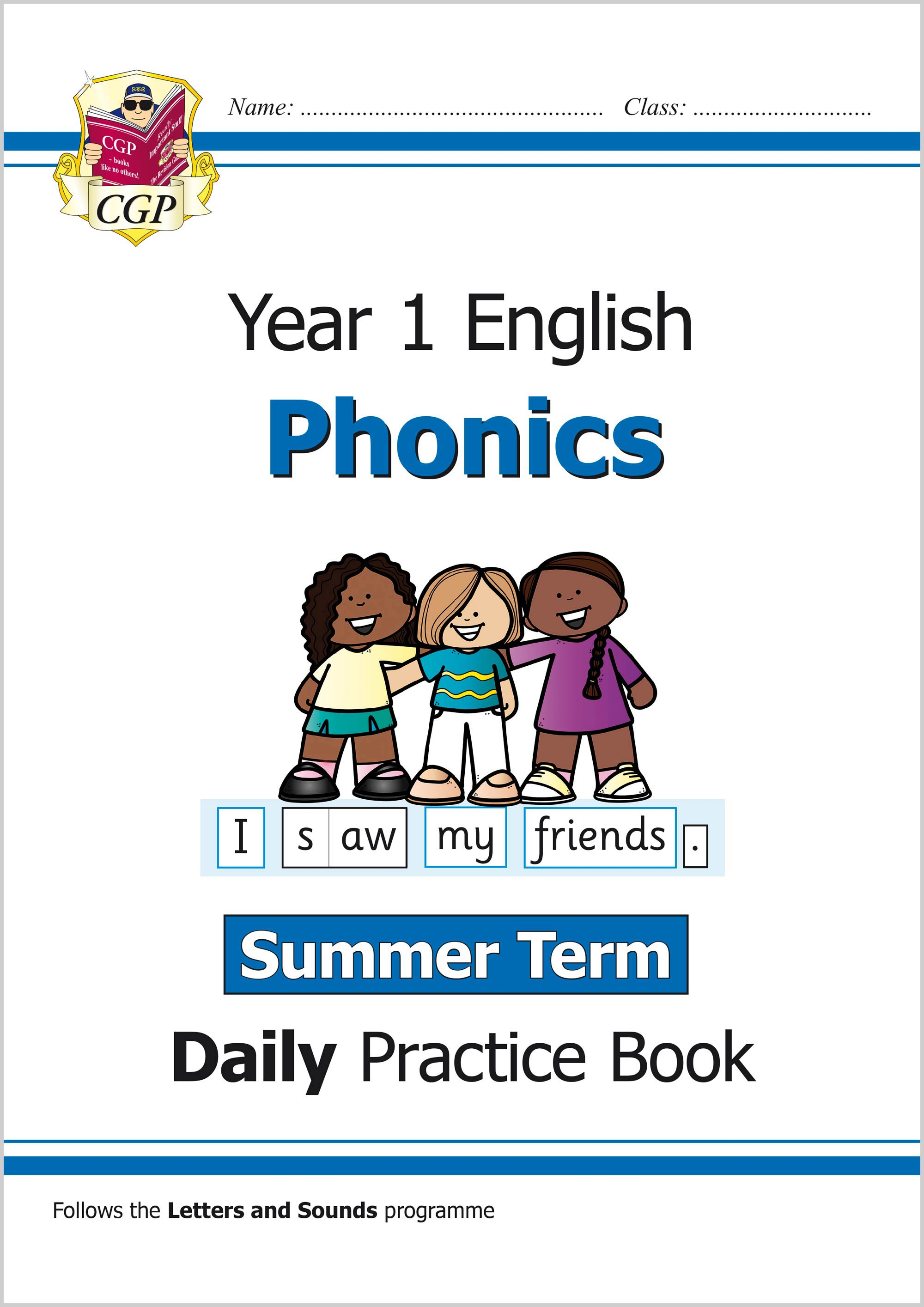 E1OWSU11 - New KS1 Phonics Daily Practice Book: Year 1 - Summer Term