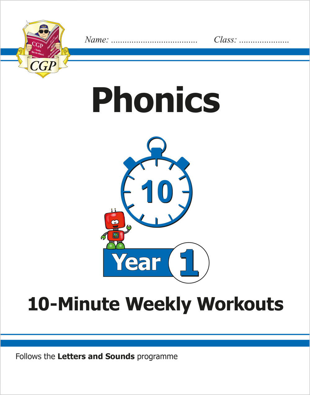 E1OXW11 - New KS1 English 10-Minute Weekly Workouts: Phonics - Year 1