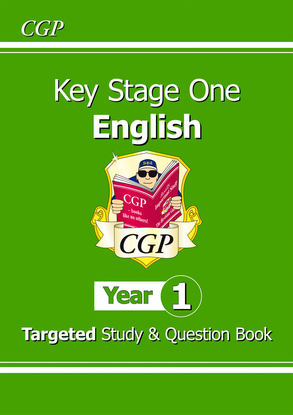 E1TS11 - KS1 English Targeted Study & Question Book - Year 1