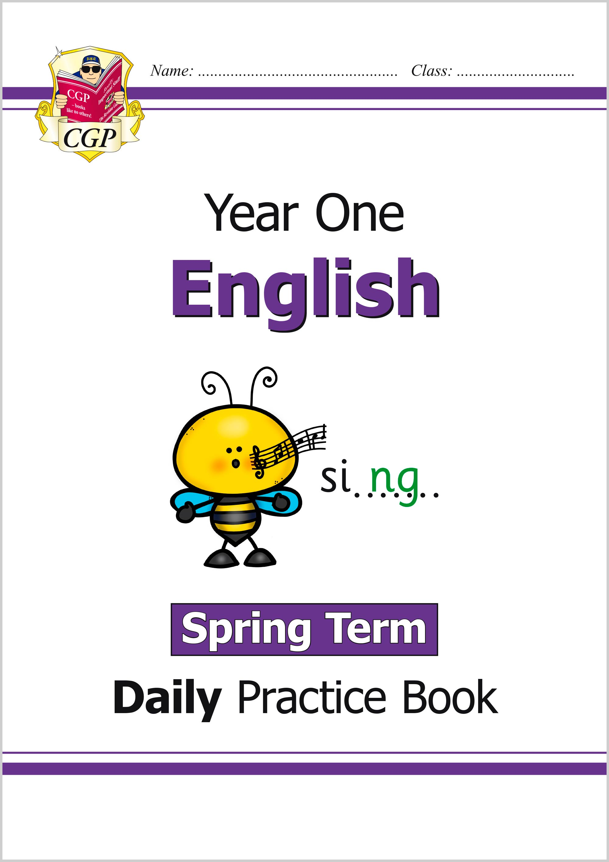 E1WSP11 - New KS1 English Daily Practice Book: Year 1 - Spring Term