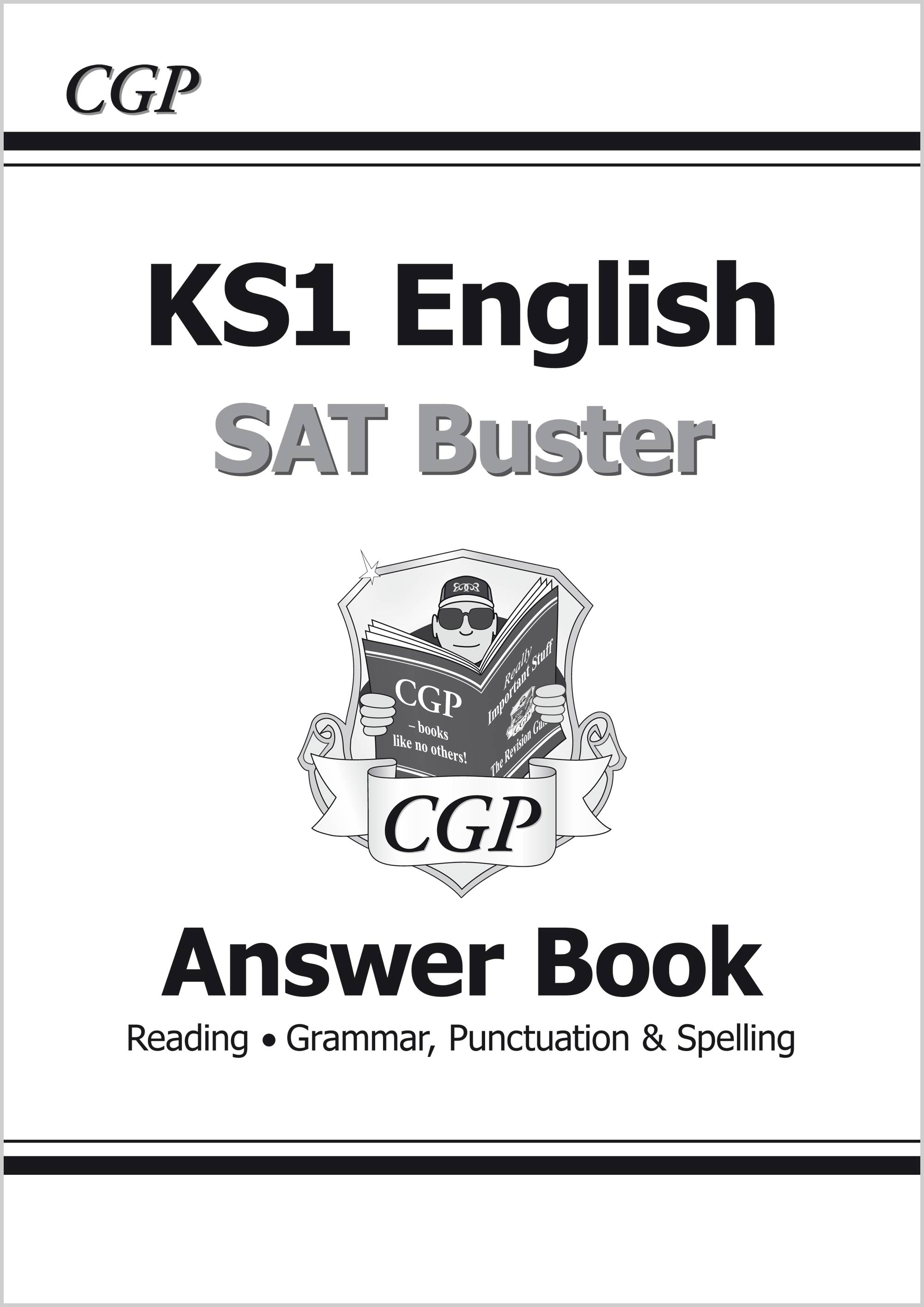 E2A11 - KS1 English SAT Buster: Answer Book (for the 2021 tests)
