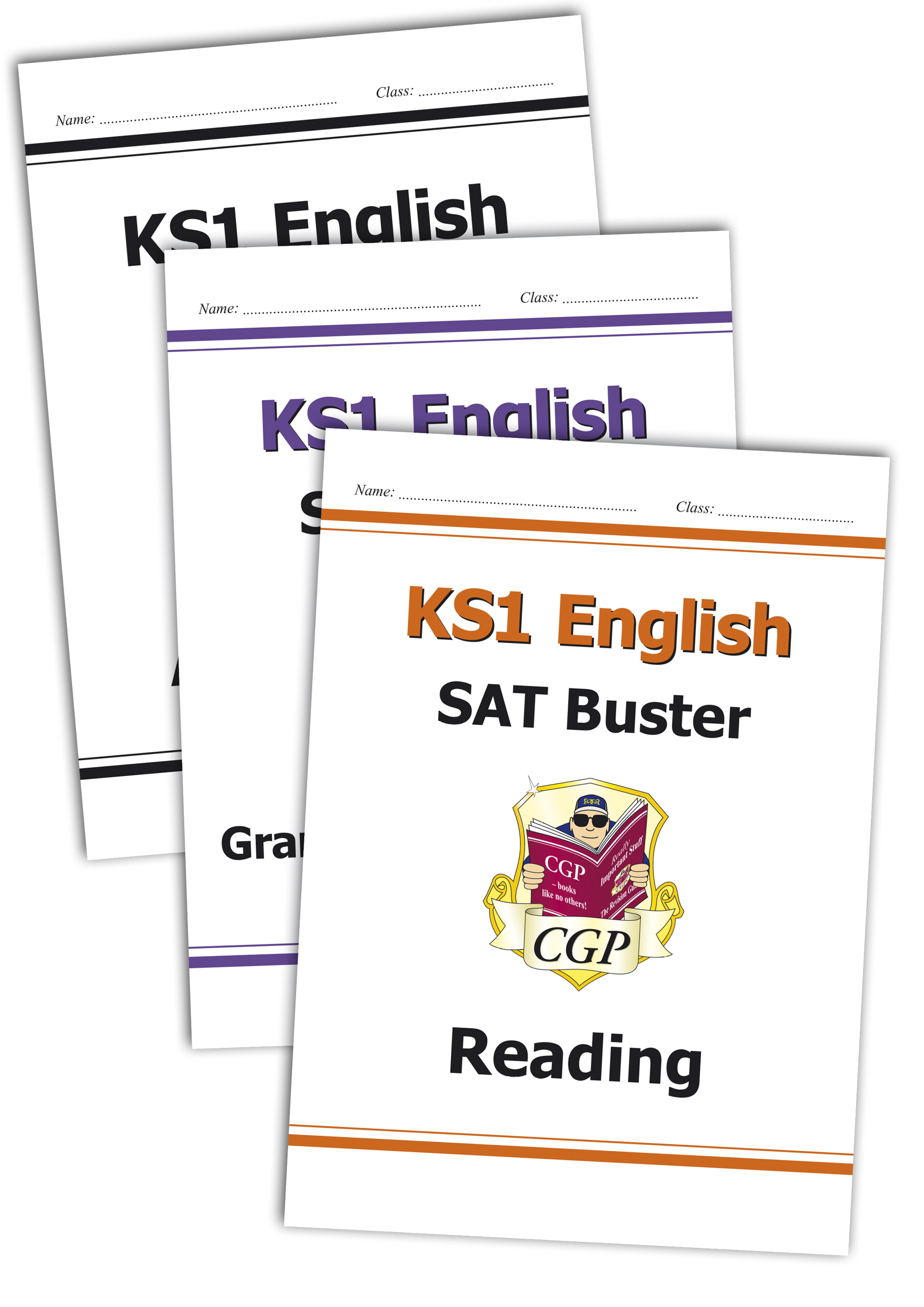 E2B11 - Complete KS1 English SAT Buster Bundle - incl answers (for the 2019 tests)