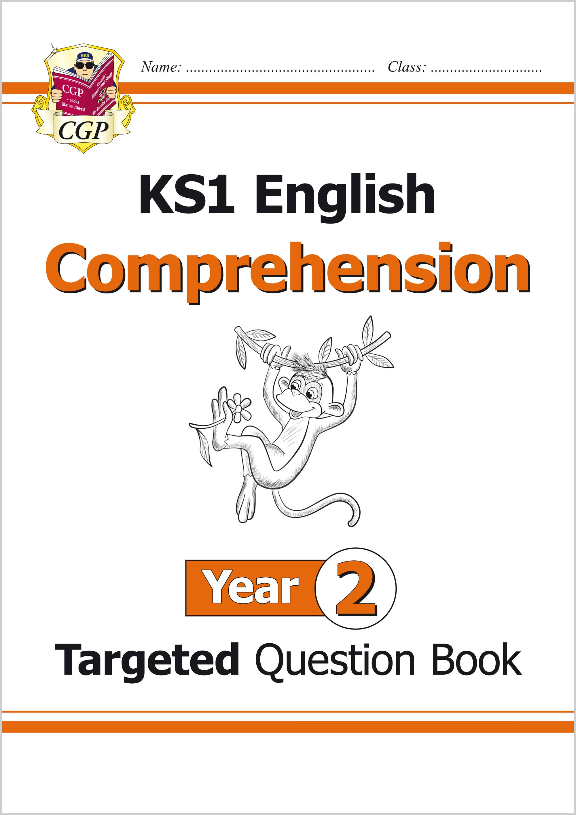 E2CW11 - KS1 English Targeted Question Book: Comprehension - Year 2