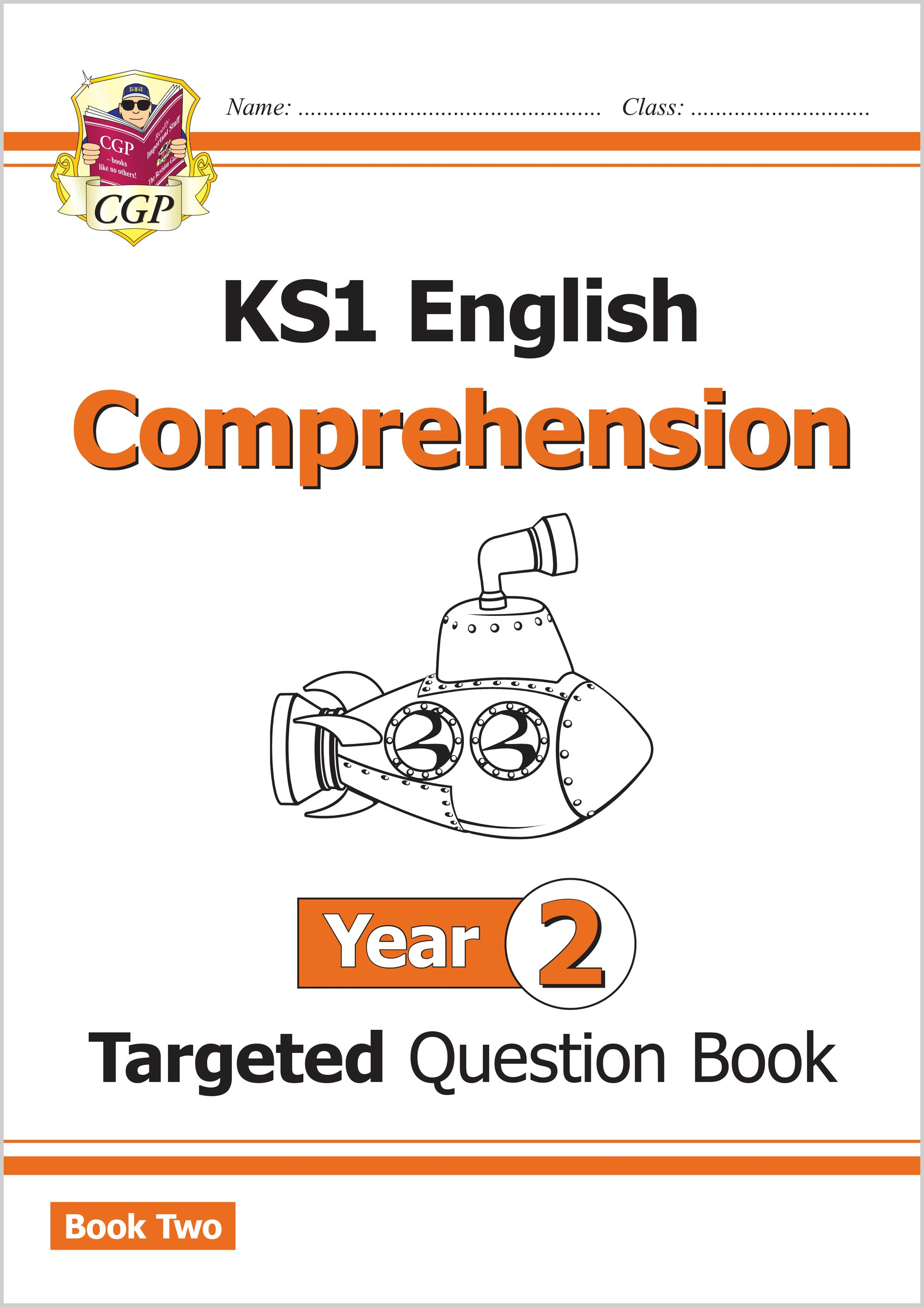 E2CW211 - New KS1 English Targeted Question Book: Year 2 Comprehension - Book 2