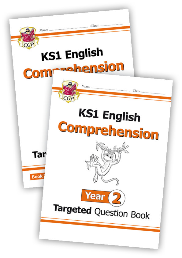 E2CWB11 - KS1 English Targeted Question Book: Year 2 Comprehension - Book 1 & 2 Bundle
