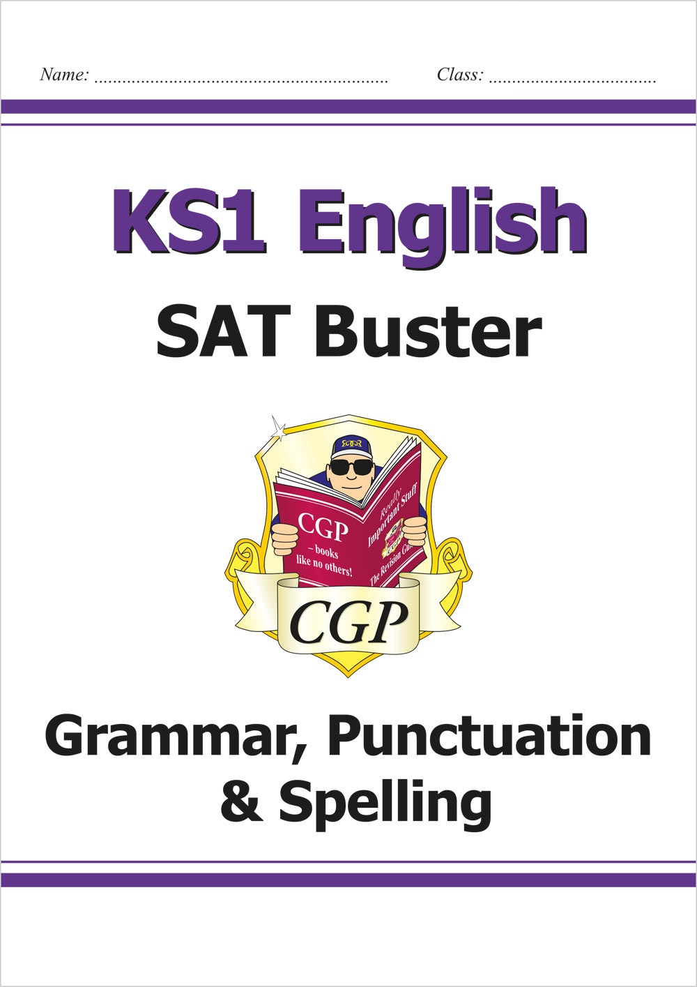 E2G11 - KS1 English SAT Buster: Grammar, Punctuation & Spelling (for the 2019 tests)