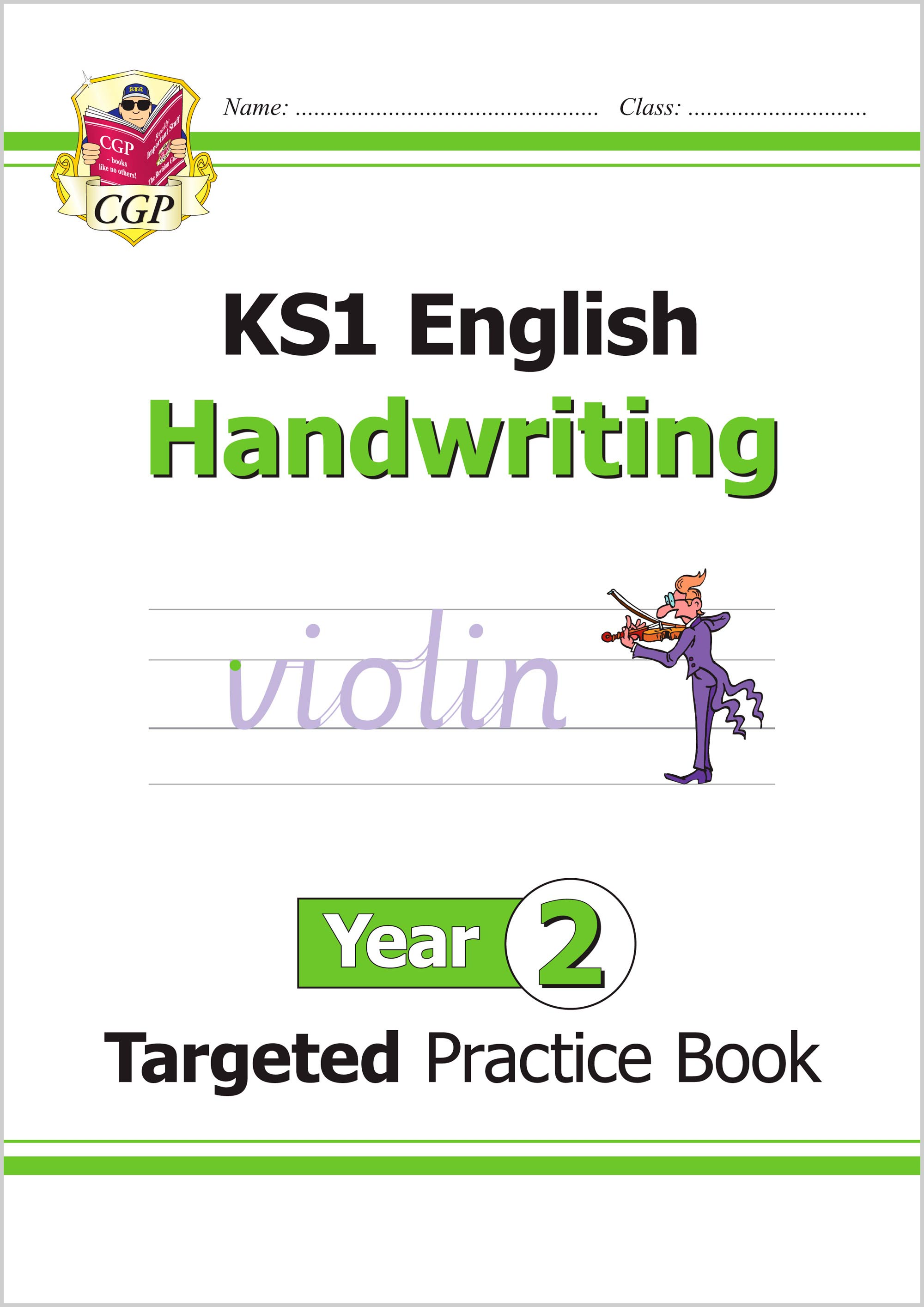 E2HHW12 - KS1 English Targeted Practice Book: Handwriting - Year 2