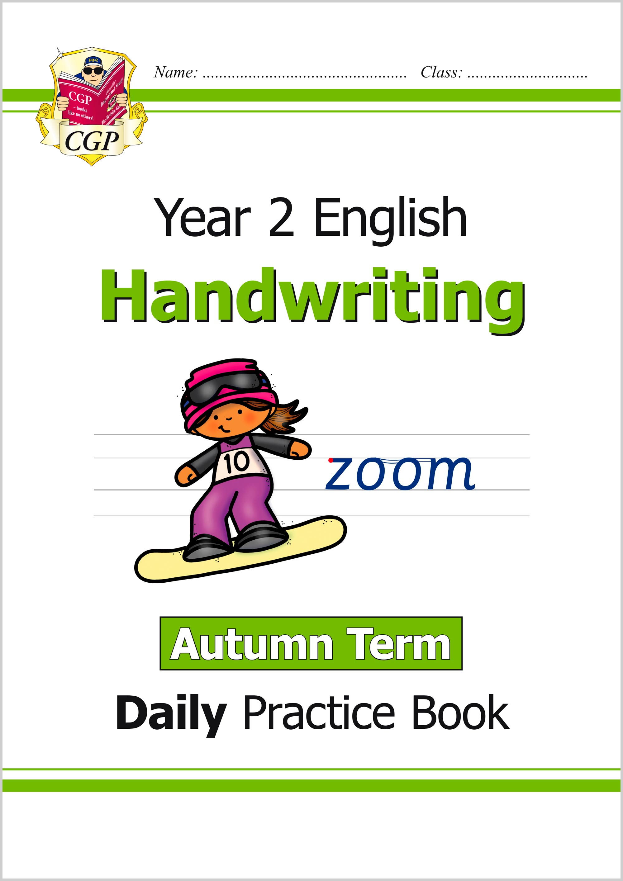 E2HWAU11 - New KS1 Handwriting Daily Practice Book: Year 2 - Autumn Term