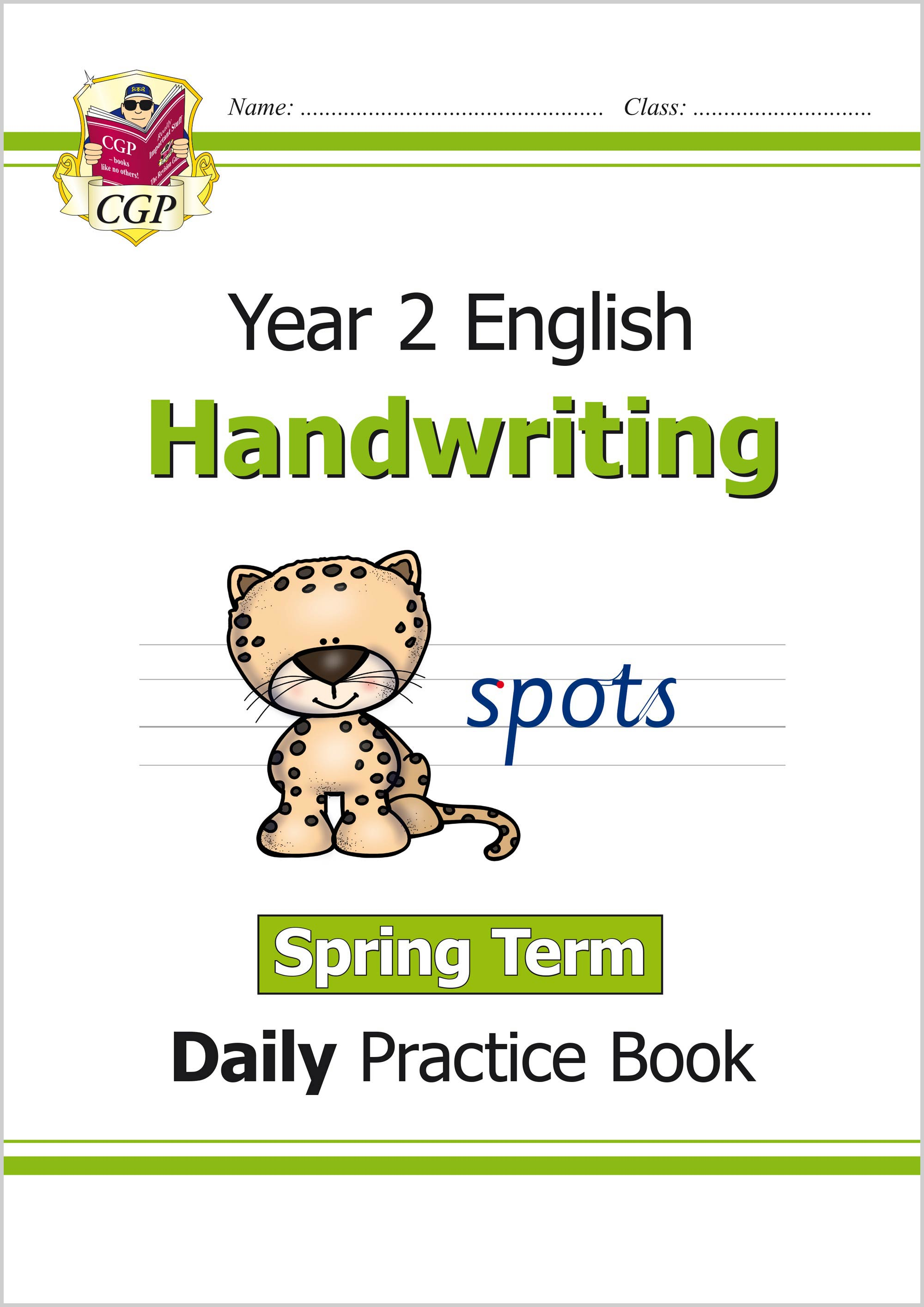 E2HWSP11 - New KS1 Handwriting Daily Practice Book: Year 2 - Spring Term