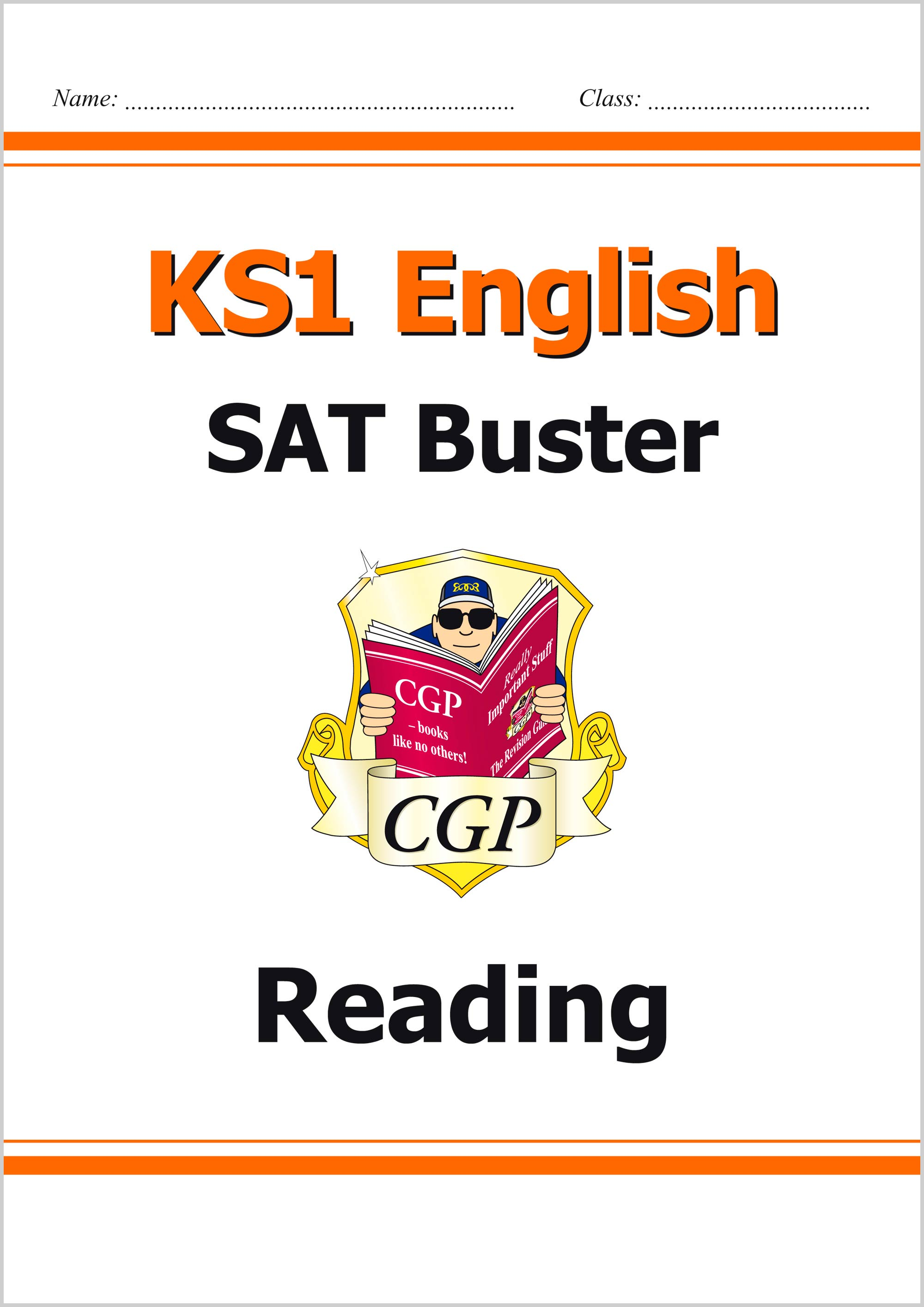 E2R11 - KS1 English SAT Buster: Reading (for the 2019 tests)