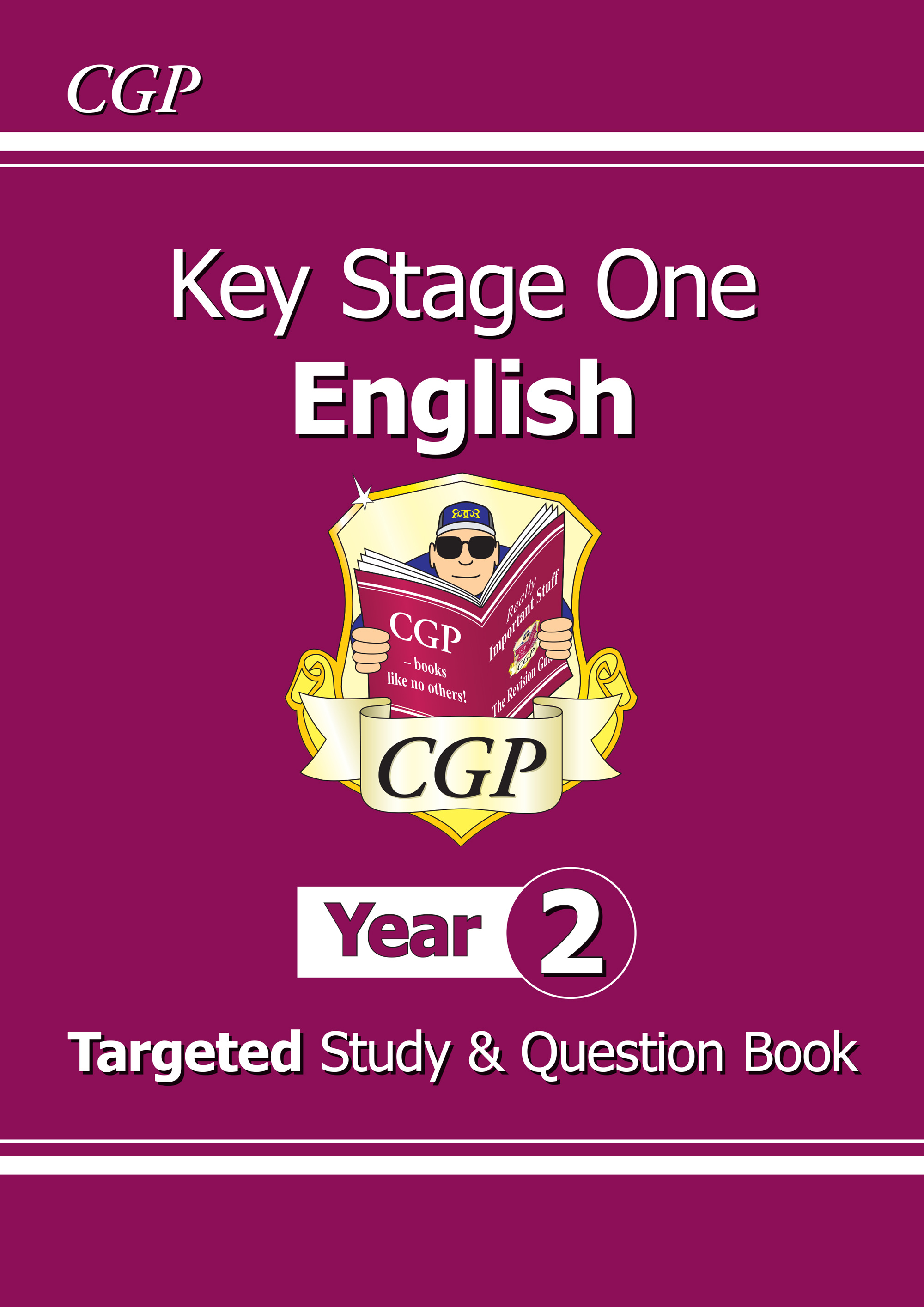 E2TS11 - KS1 English Targeted Study & Question Book - Year 2
