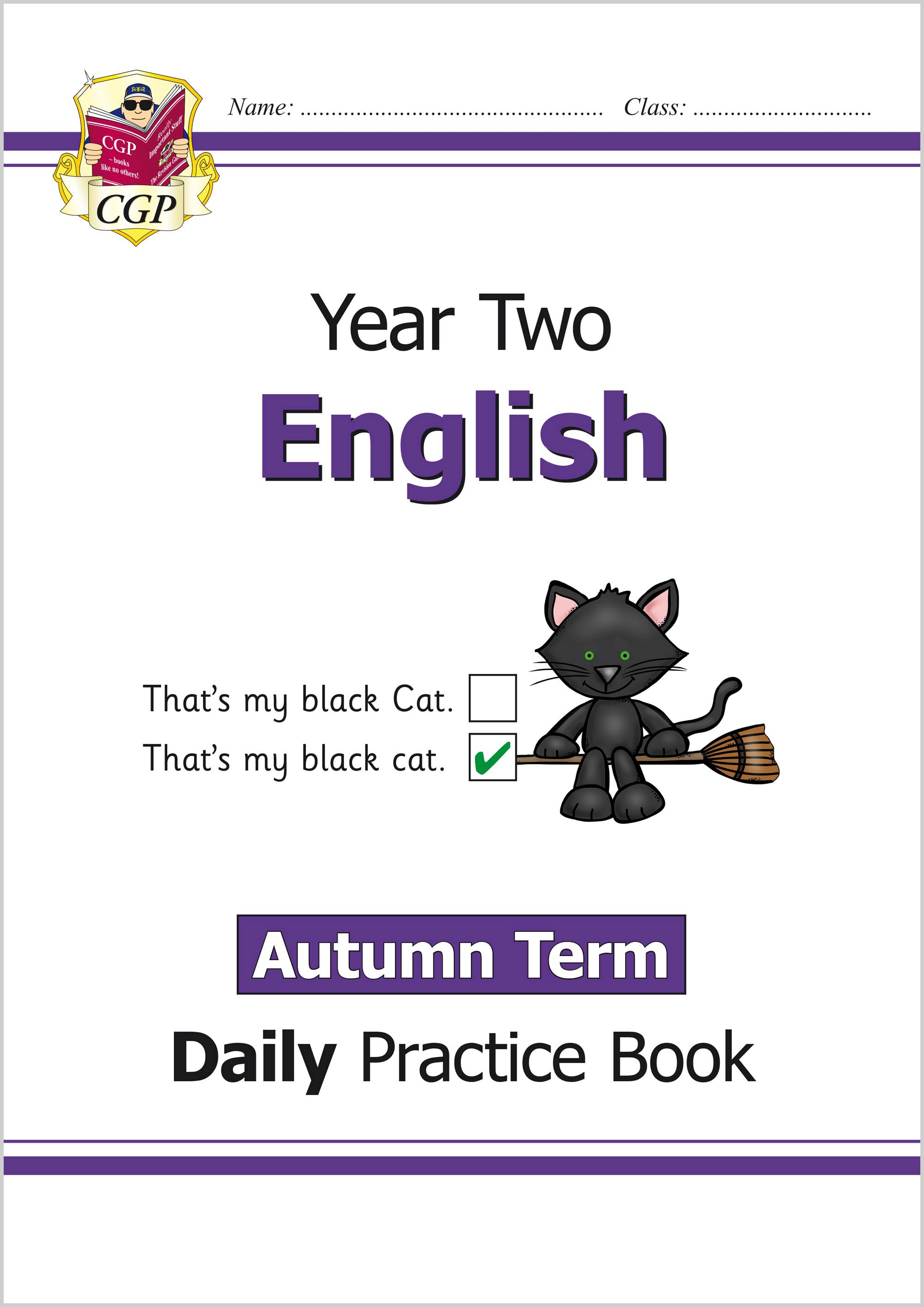 E2WAU11 - New KS1 English Daily Practice Book: Year 2 - Autumn Term