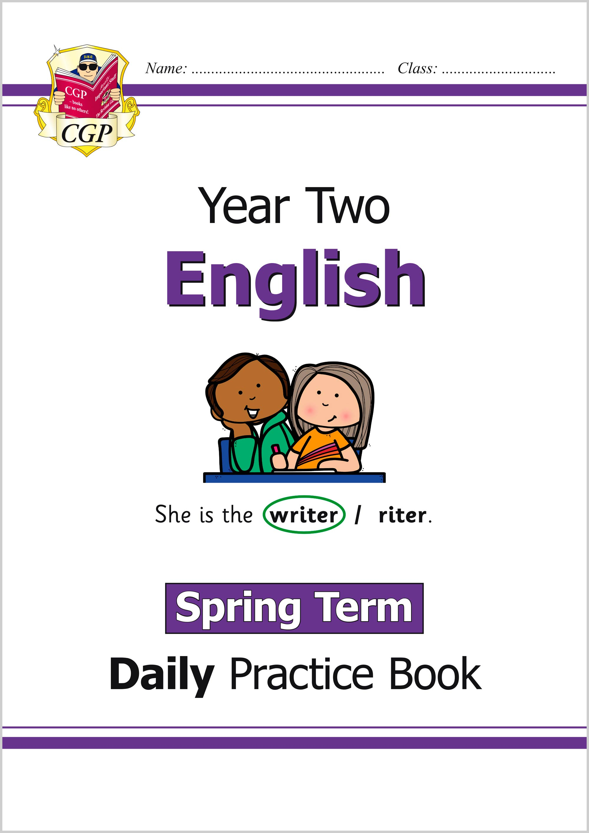 E2WSP11 - New KS1 English Daily Practice Book: Year 2 - Spring Term