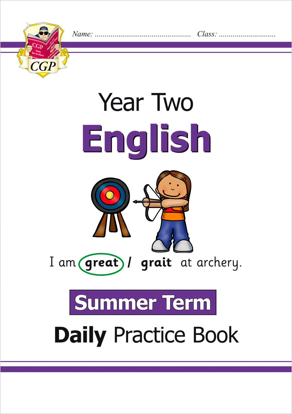 E2WSU11 - New KS1 English Daily Practice Book: Year 2 - Summer Term
