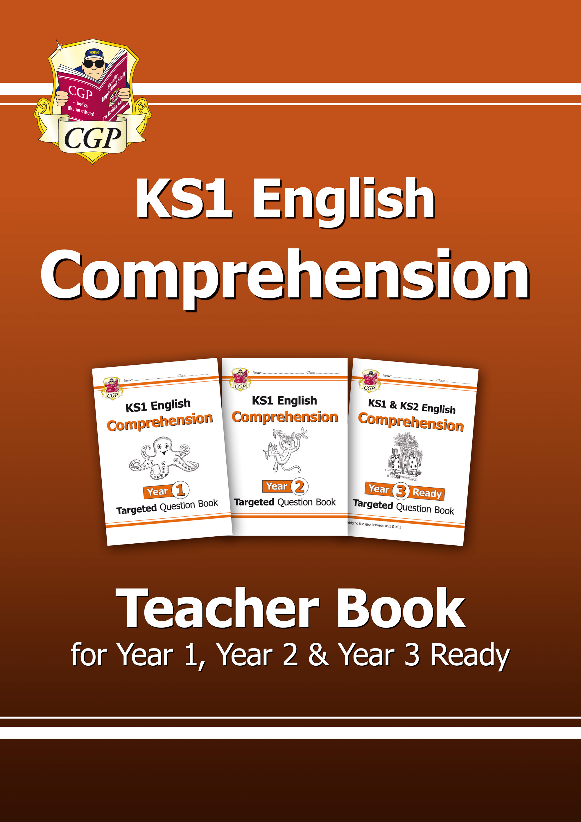 ECT11 - New KS1 English Targeted Comprehension: Teacher Book for Year 1, Year 2 & Year 3 Ready