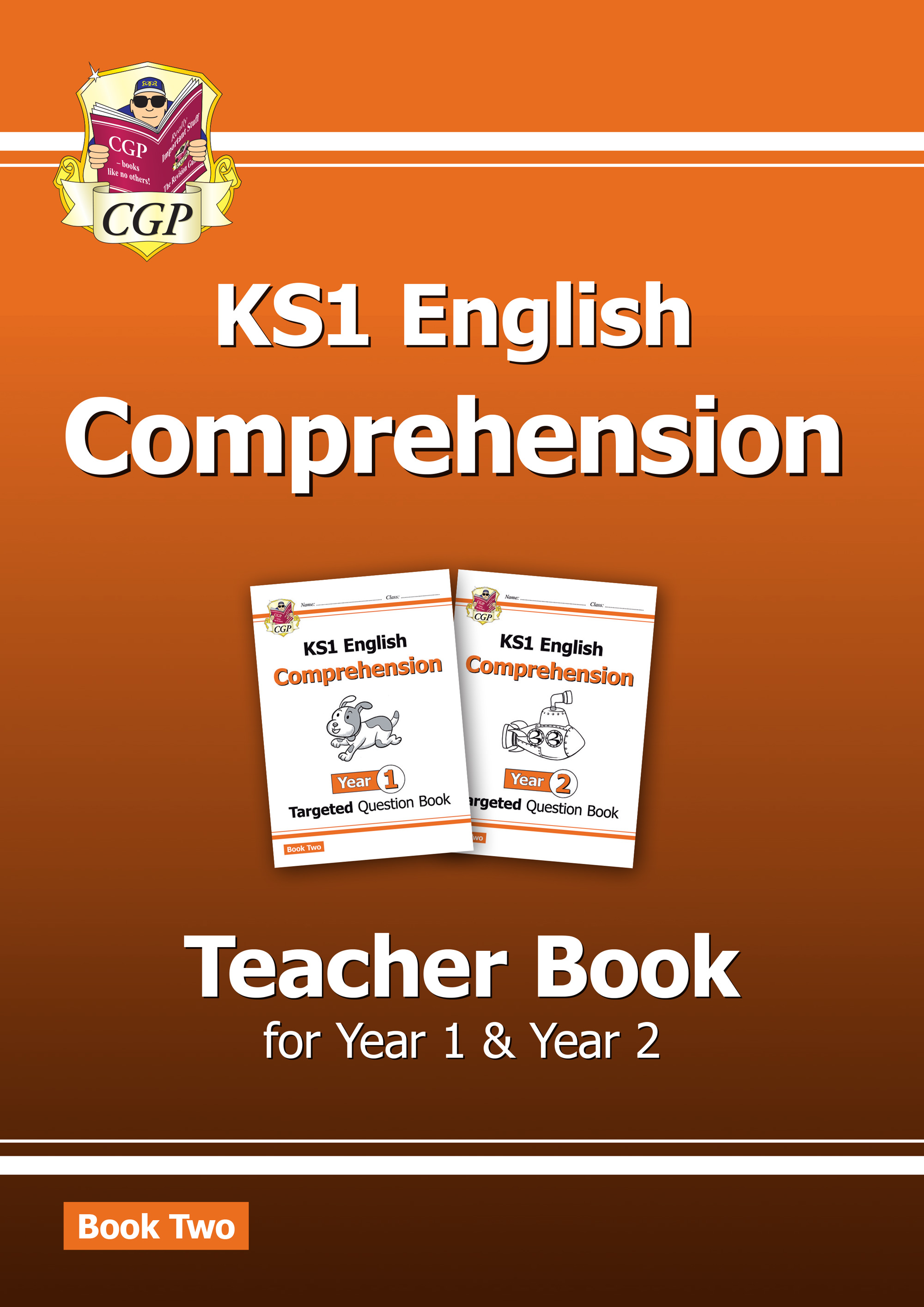 ECT211 - New KS1 English Targeted Comprehension: Teacher Book 2 for Year 1 & Year 2