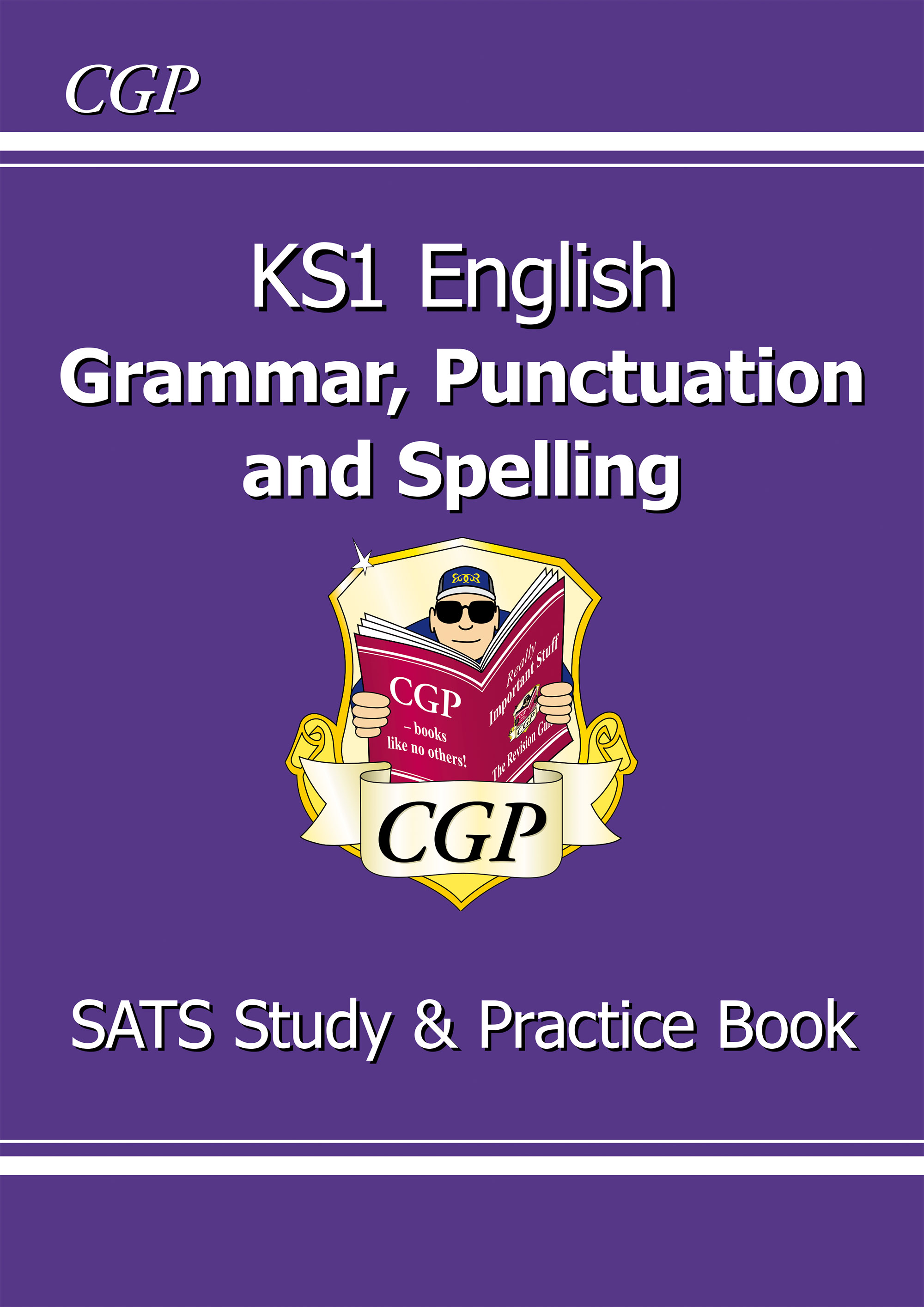 EGR11D - KS1 English Grammar, Punctuation & Spelling Study & Practice Book Online Edition