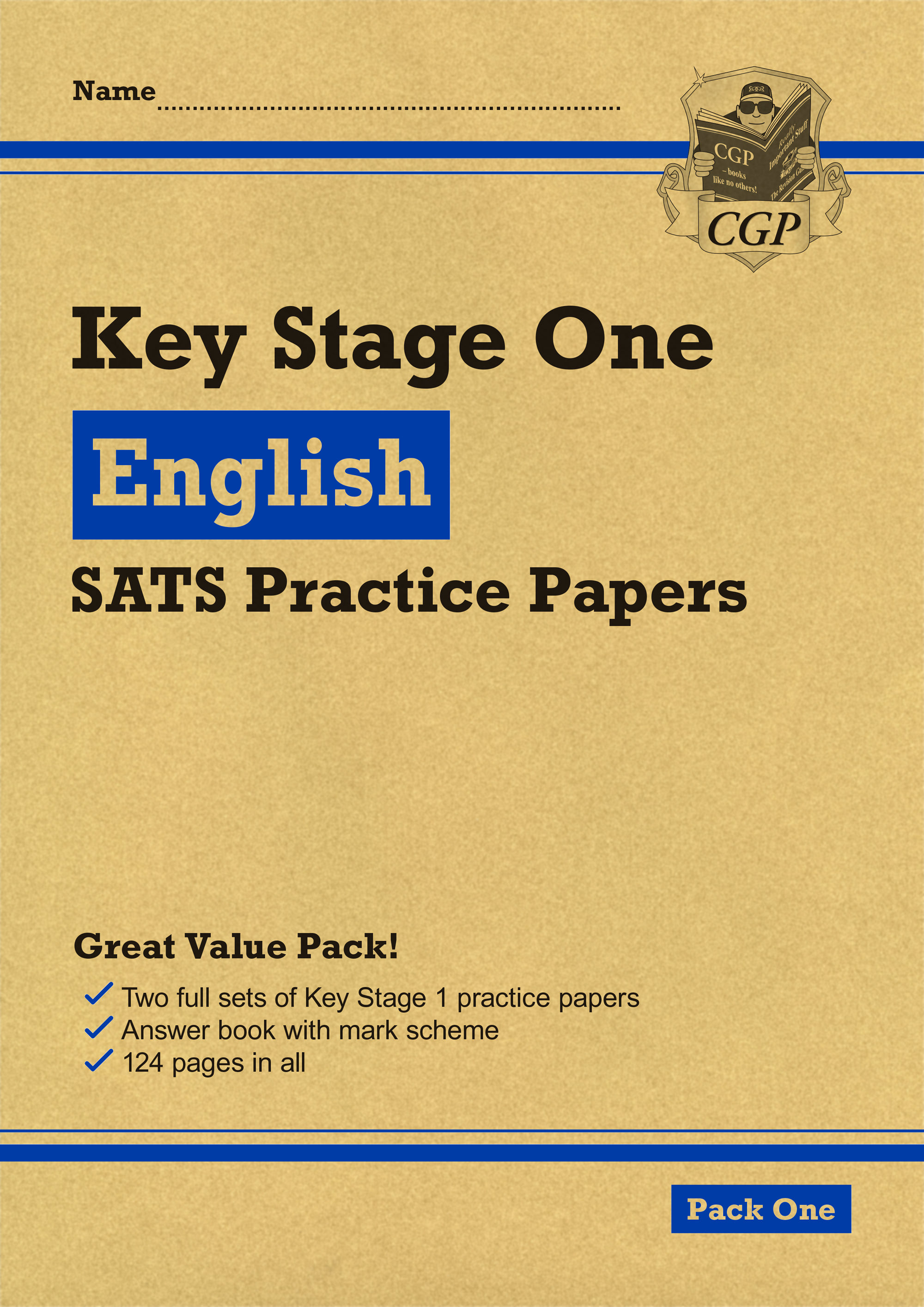 EHEP14 - New KS1 English SATS Practice Papers: Pack 1 (for the 2019 tests)