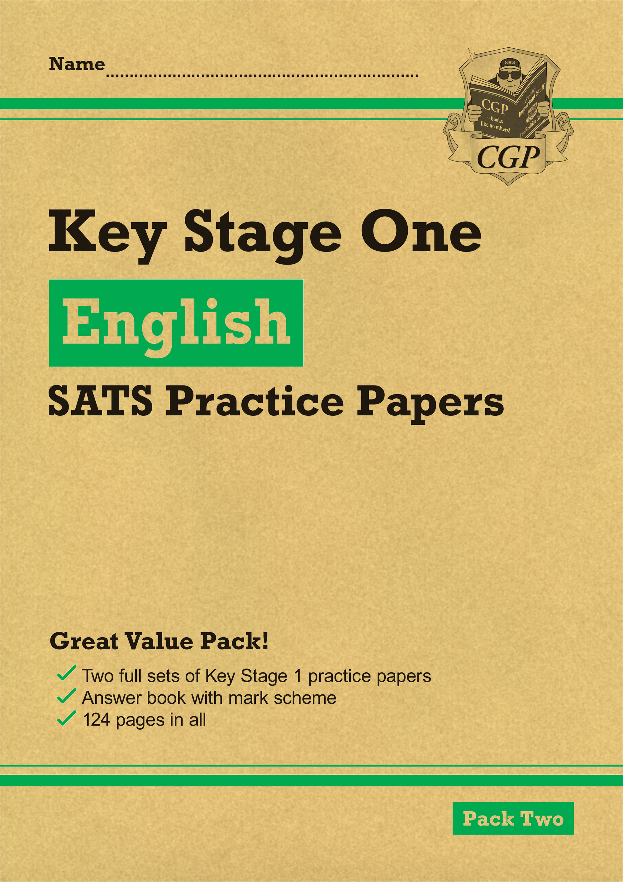 EHGP13 - New KS1 English SATS Practice Papers: Pack 2 (for the 2019 tests)