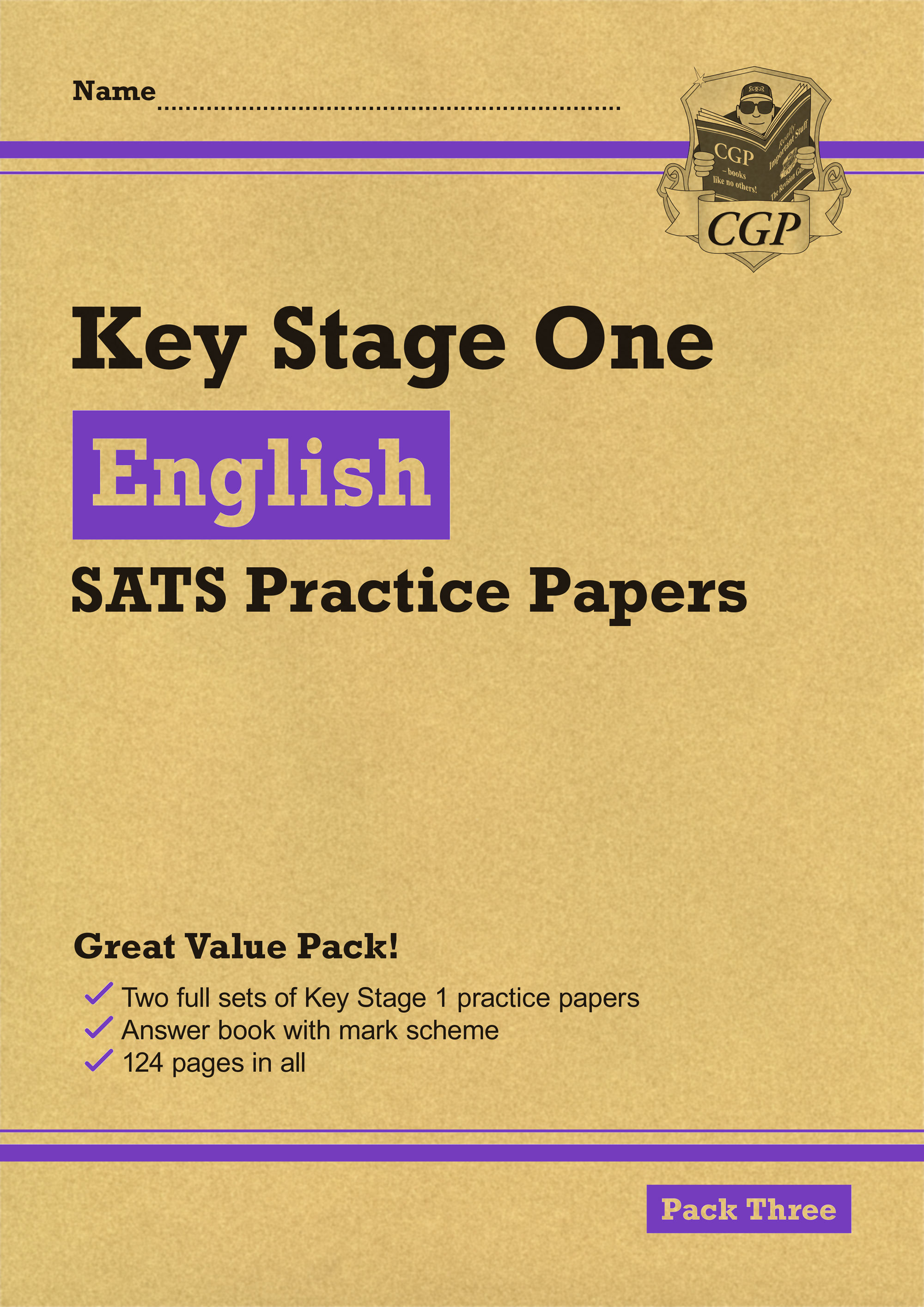 EHPP13 - KS1 English SATS Practice Papers: Pack 3 (for the 2021 tests)