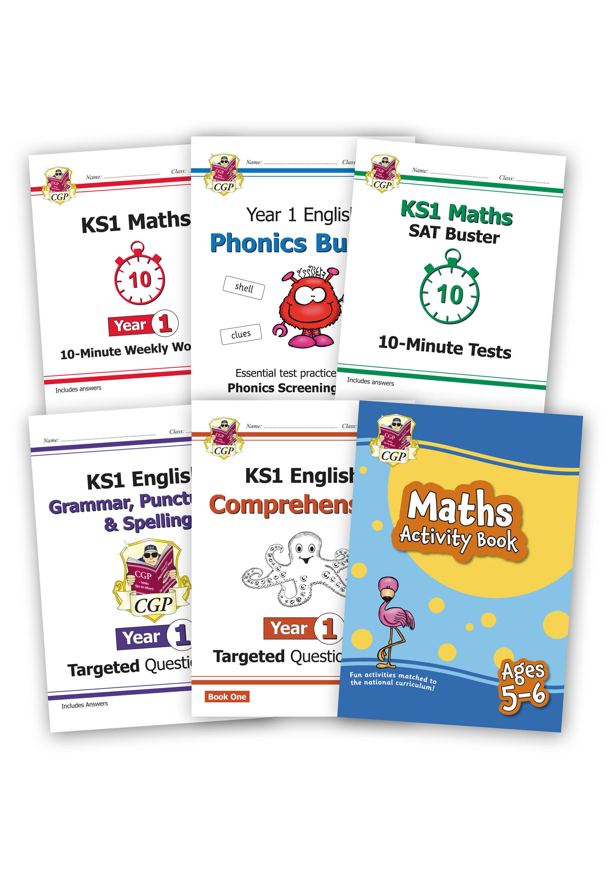 EM1HSB15 - Year 1 Home Learning Bundle: Maths and English