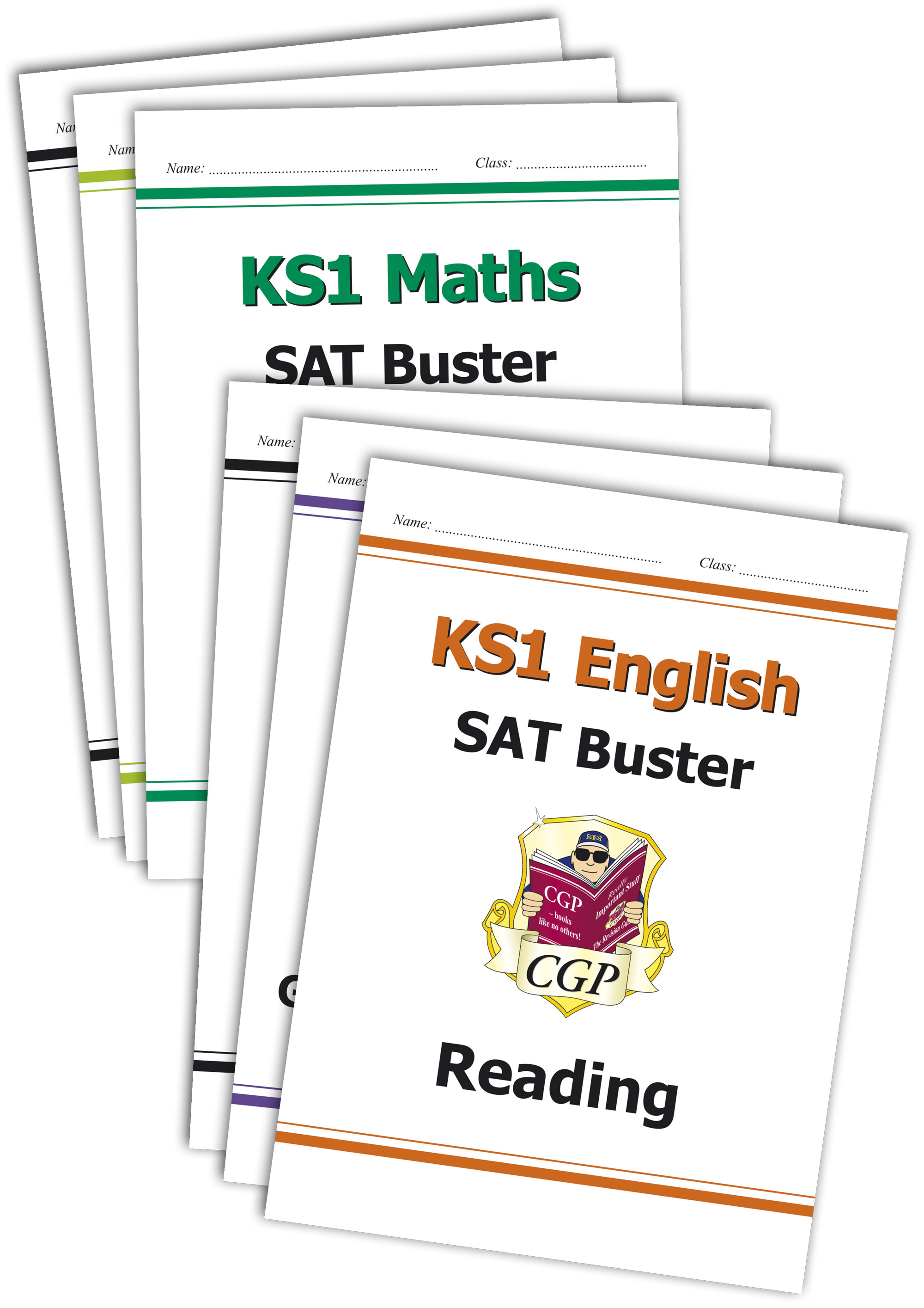 EM2B11 - Complete KS1 Maths & English SAT Buster Bundle - incl answers (for the 2021 tests)