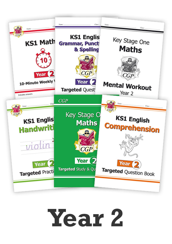 EM2CUB11 - Year 2 Essentials: Workbook Bundle - Ages 6-7