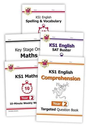 EM2HSB14 - Year 2 Home Learning Bundle: Maths & English